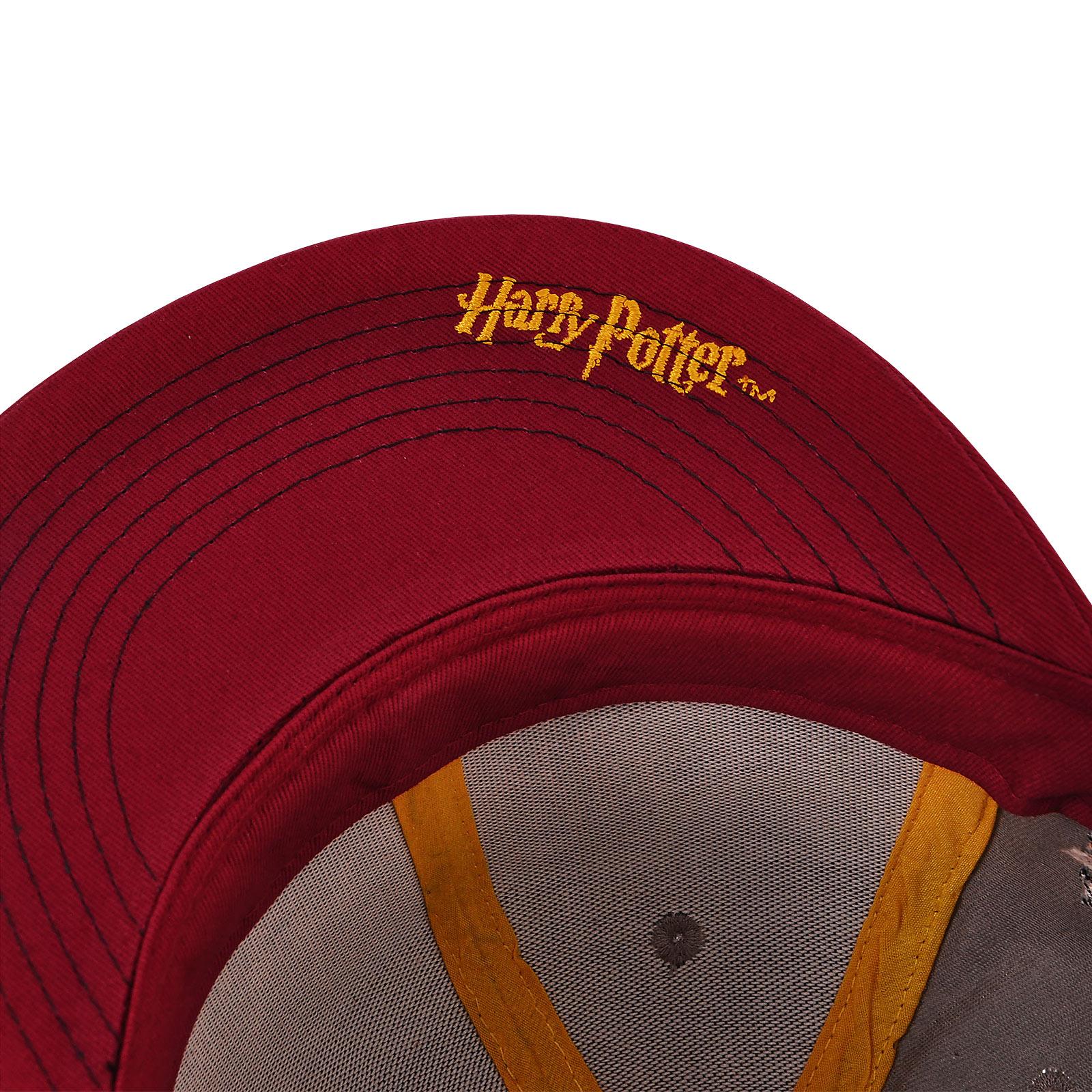 Harry Potter - Gryffindor College Snapback Cap