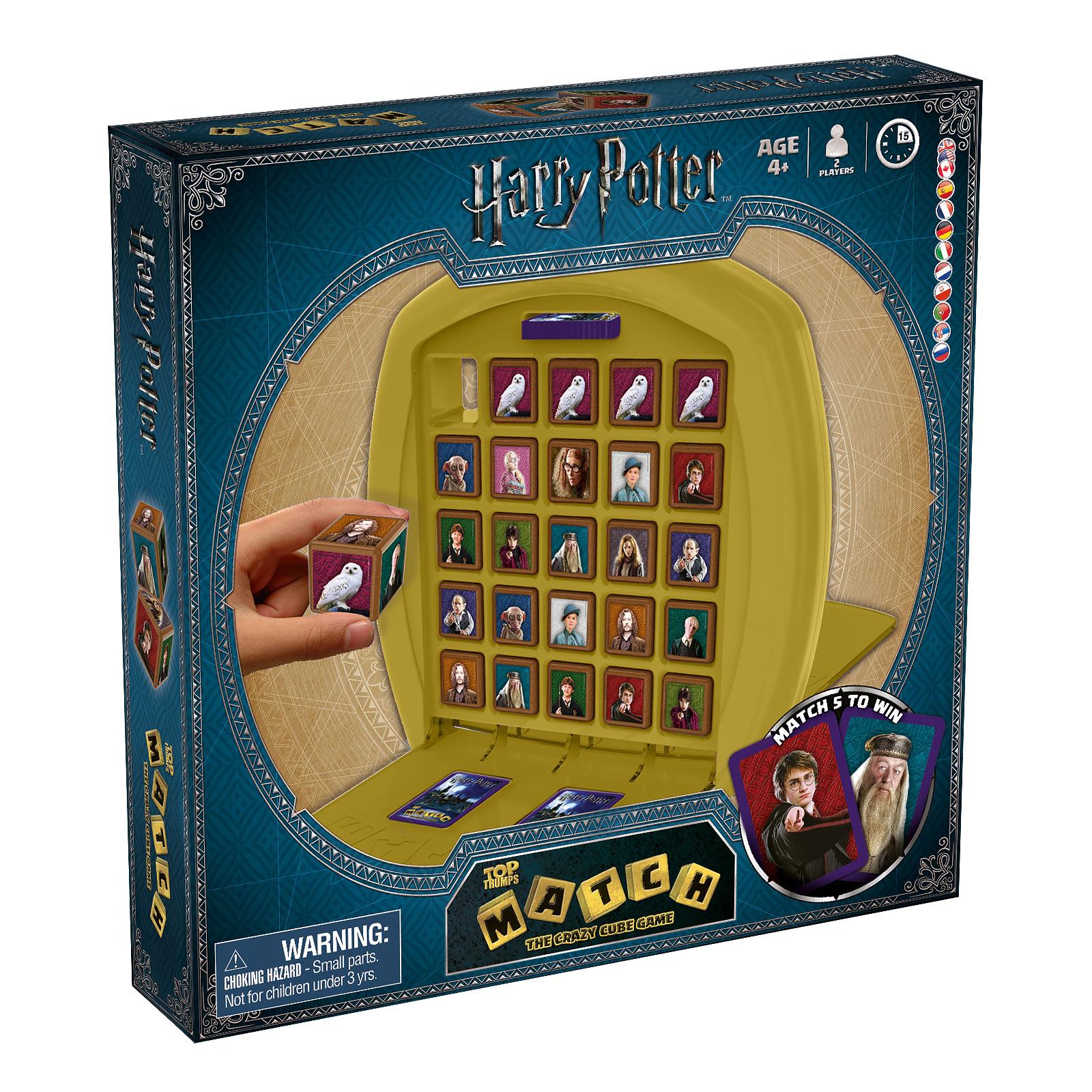 Harry Potter - Top Trumps Match Würfelspiel