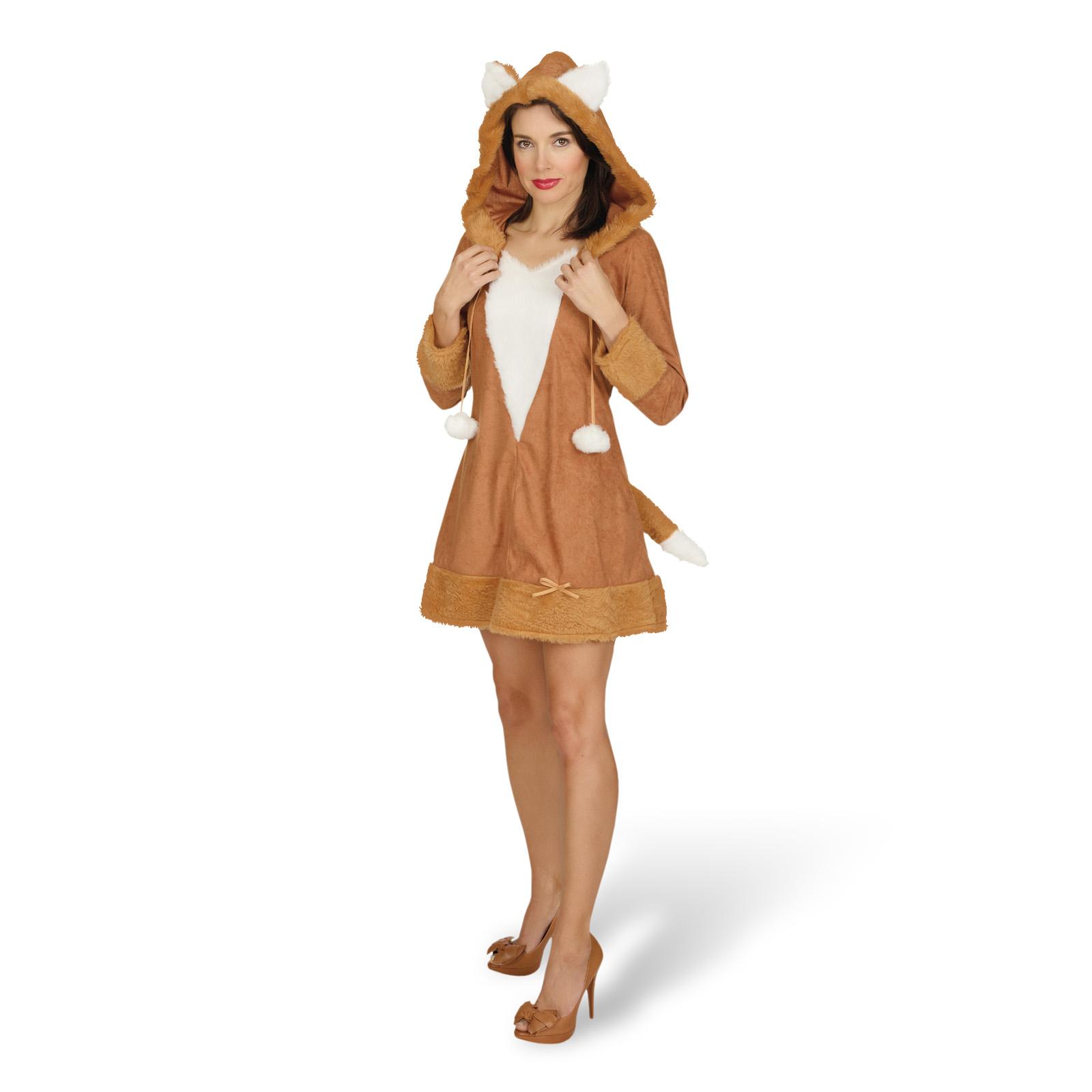 Fuchs - Kostüm Damen