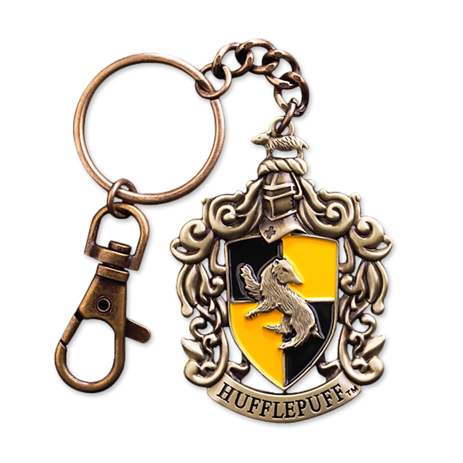Harry Potter - Hufflepuff Wappen Schlüsselanhänger