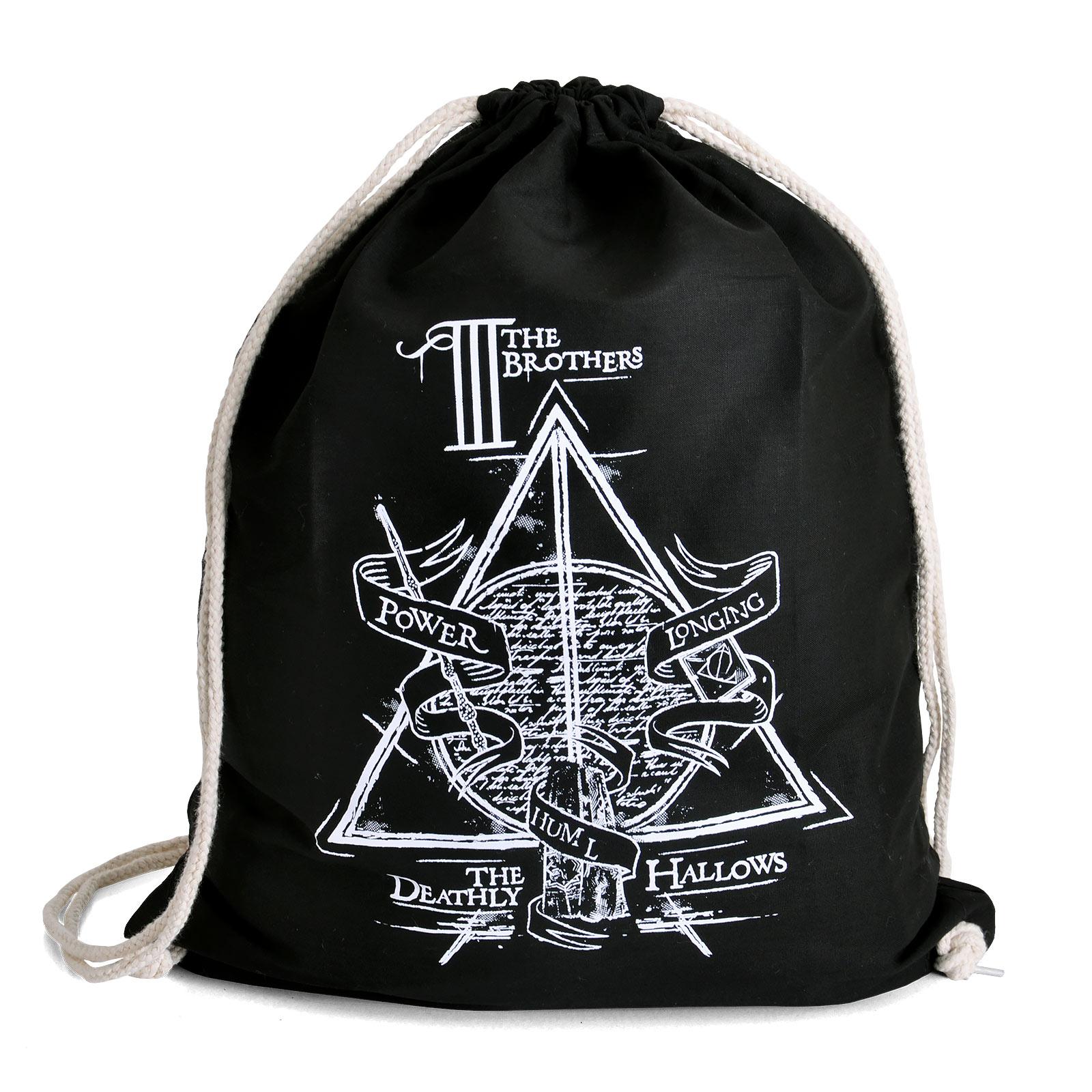 Harry Potter - Die Drei Brüder Sportbag schwarz