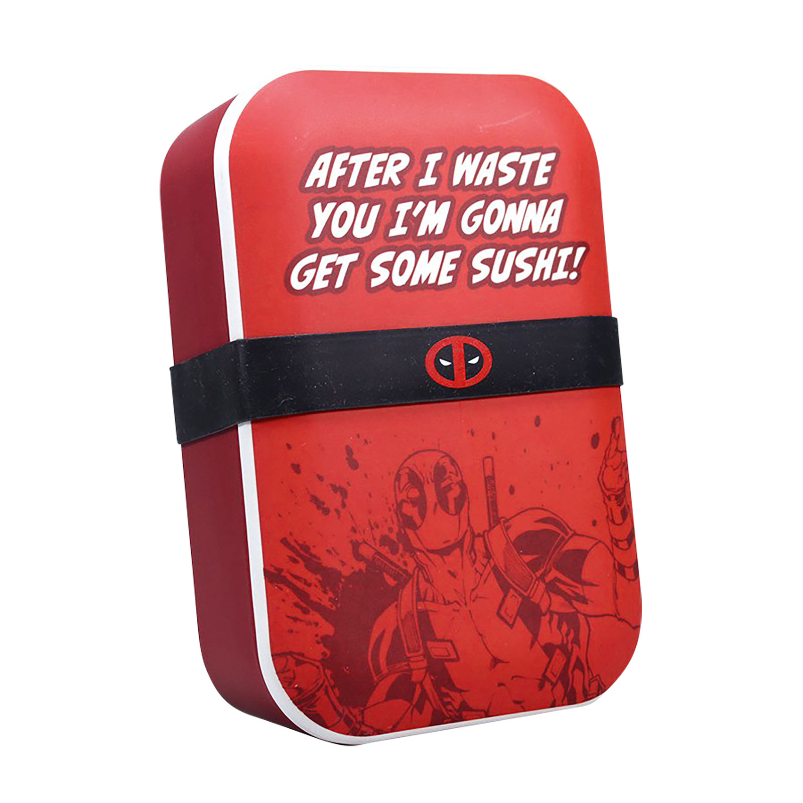 Deadpool - Get Some Sushi Bambus Lunchbox
