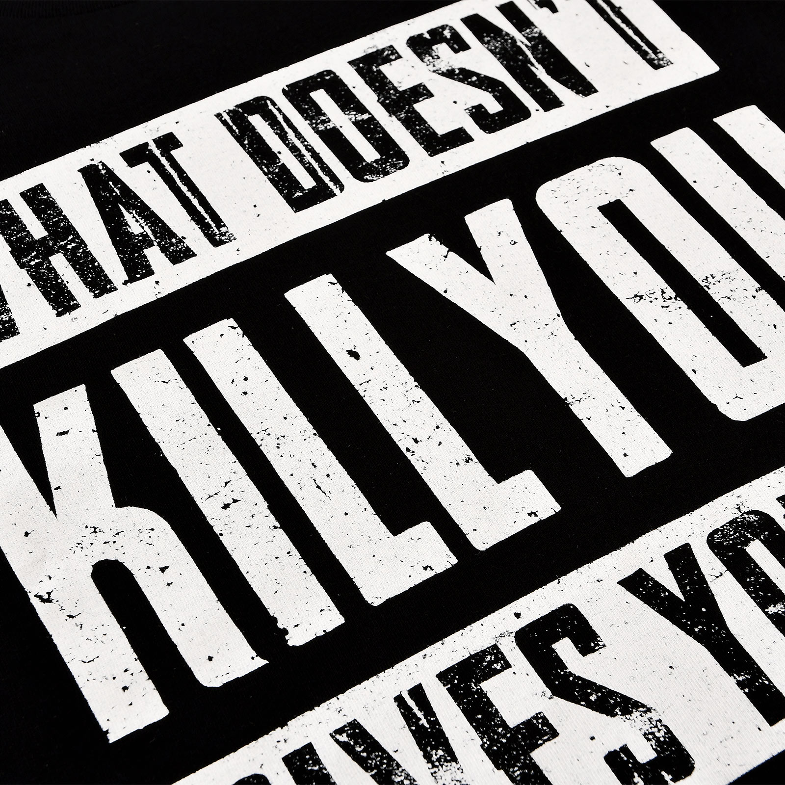 What Doesn't Kill You Gives You XP T-Shirt schwarz
