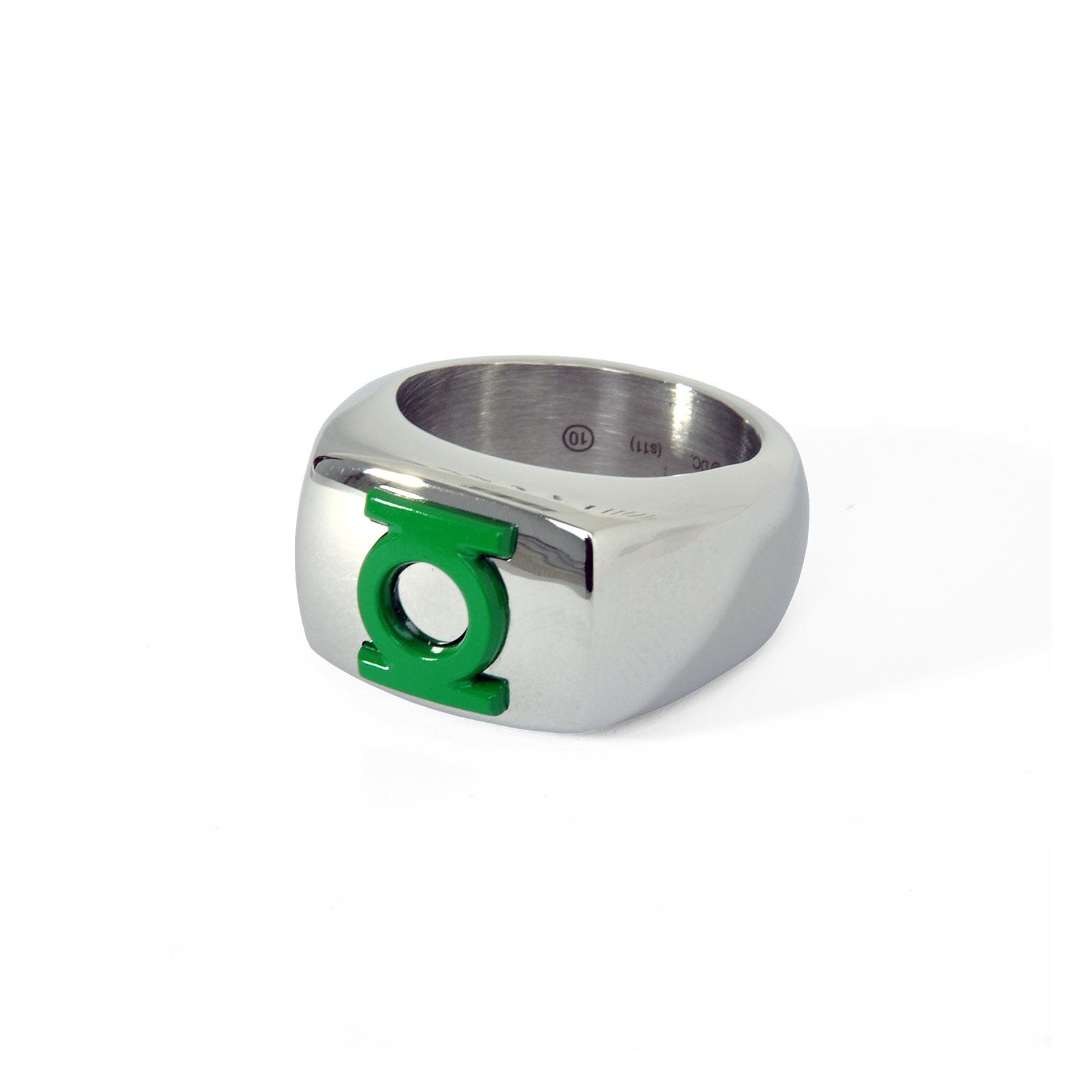 Green Lantern - Logo Ring grün