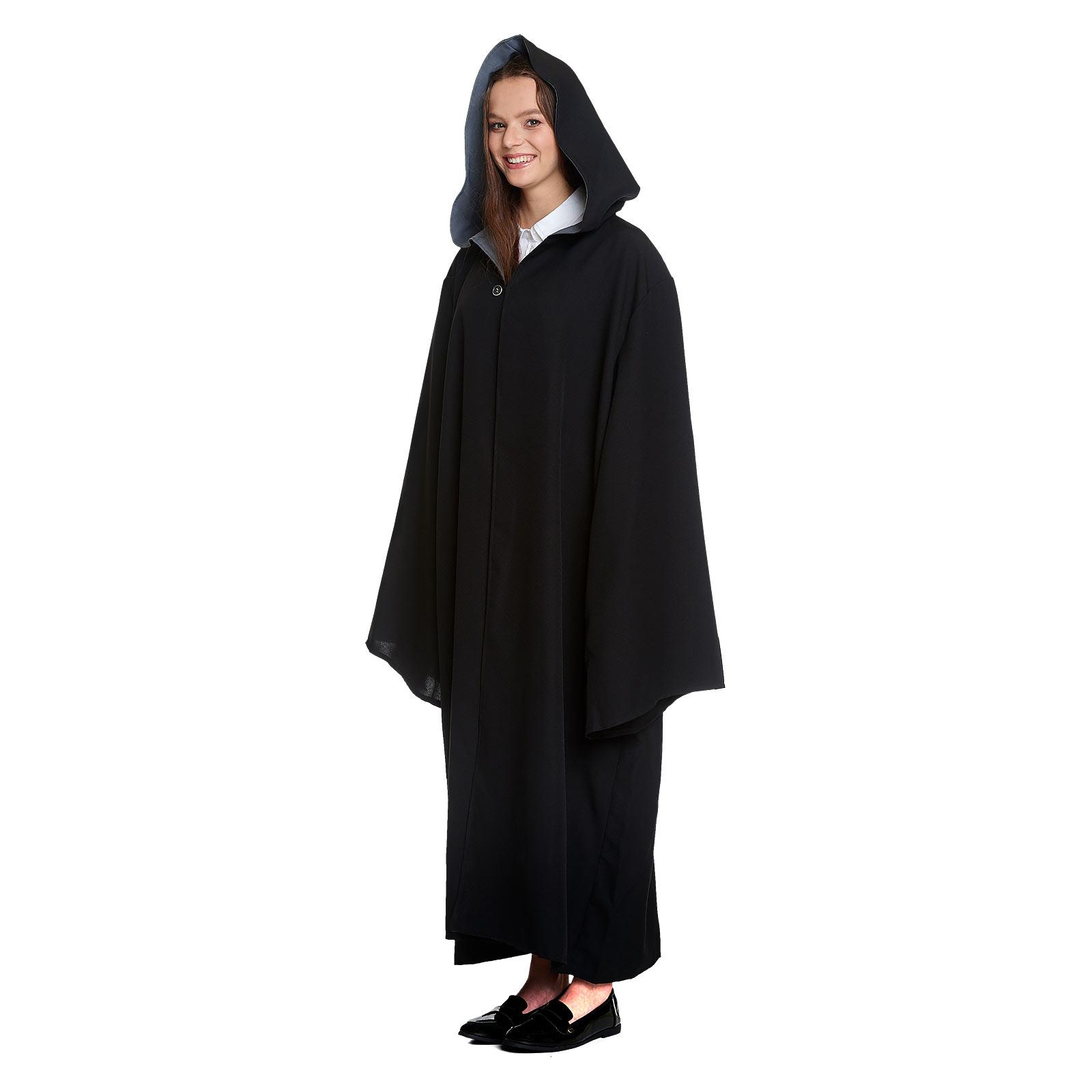 Zauberer Kostüm Robe mit Kapuze für Harry Potter Fans