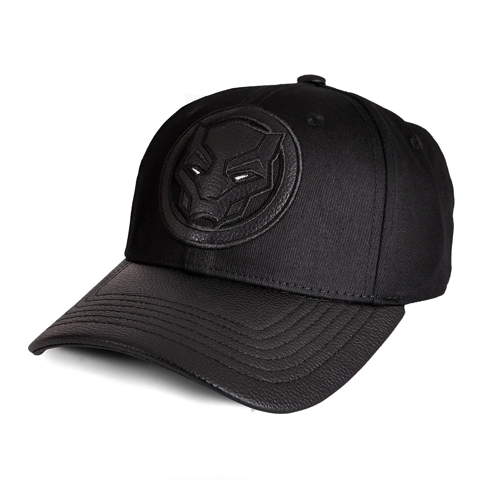 Black Panther - Logo Basecap schwarz