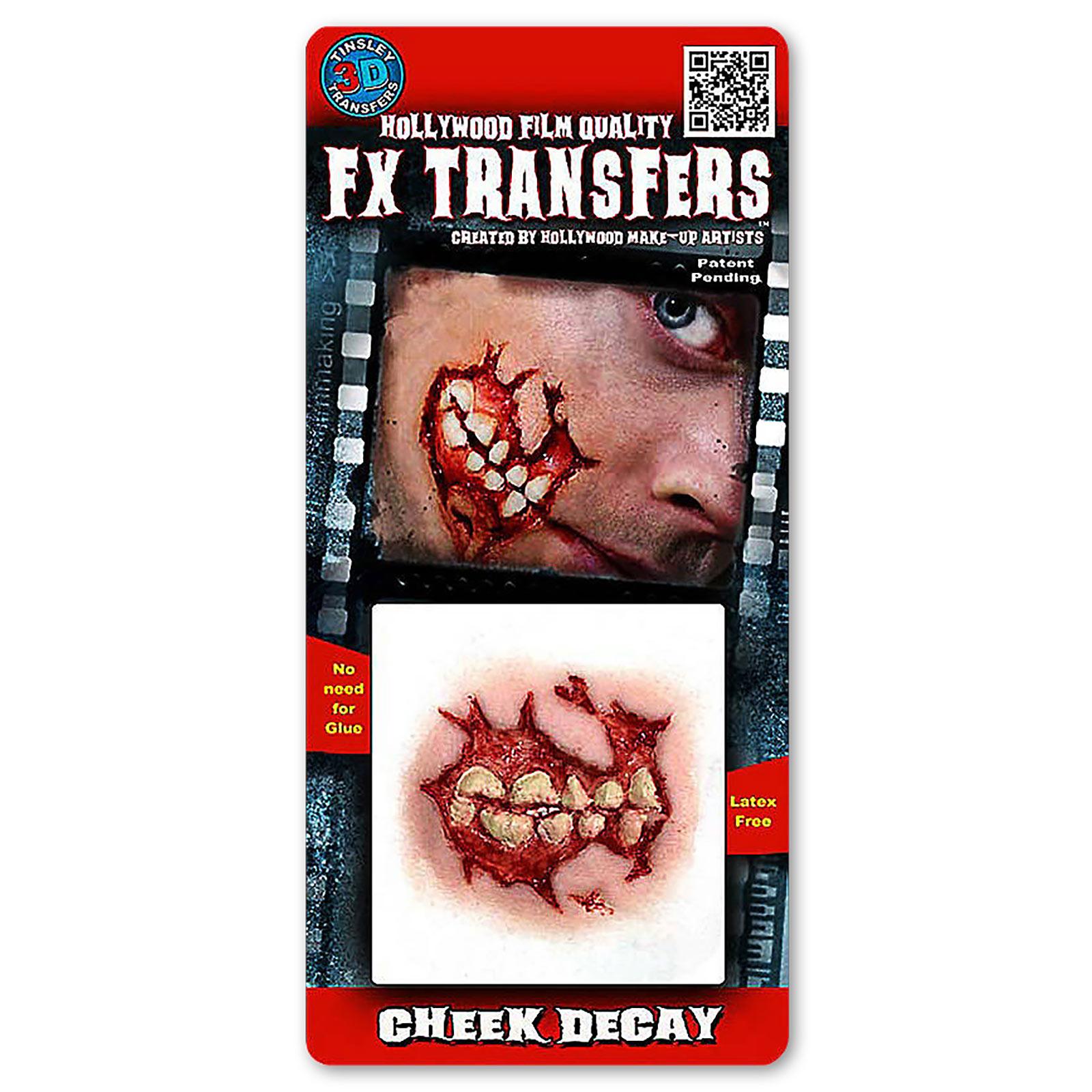 Wunde am Kiefer 3D FX Transfers