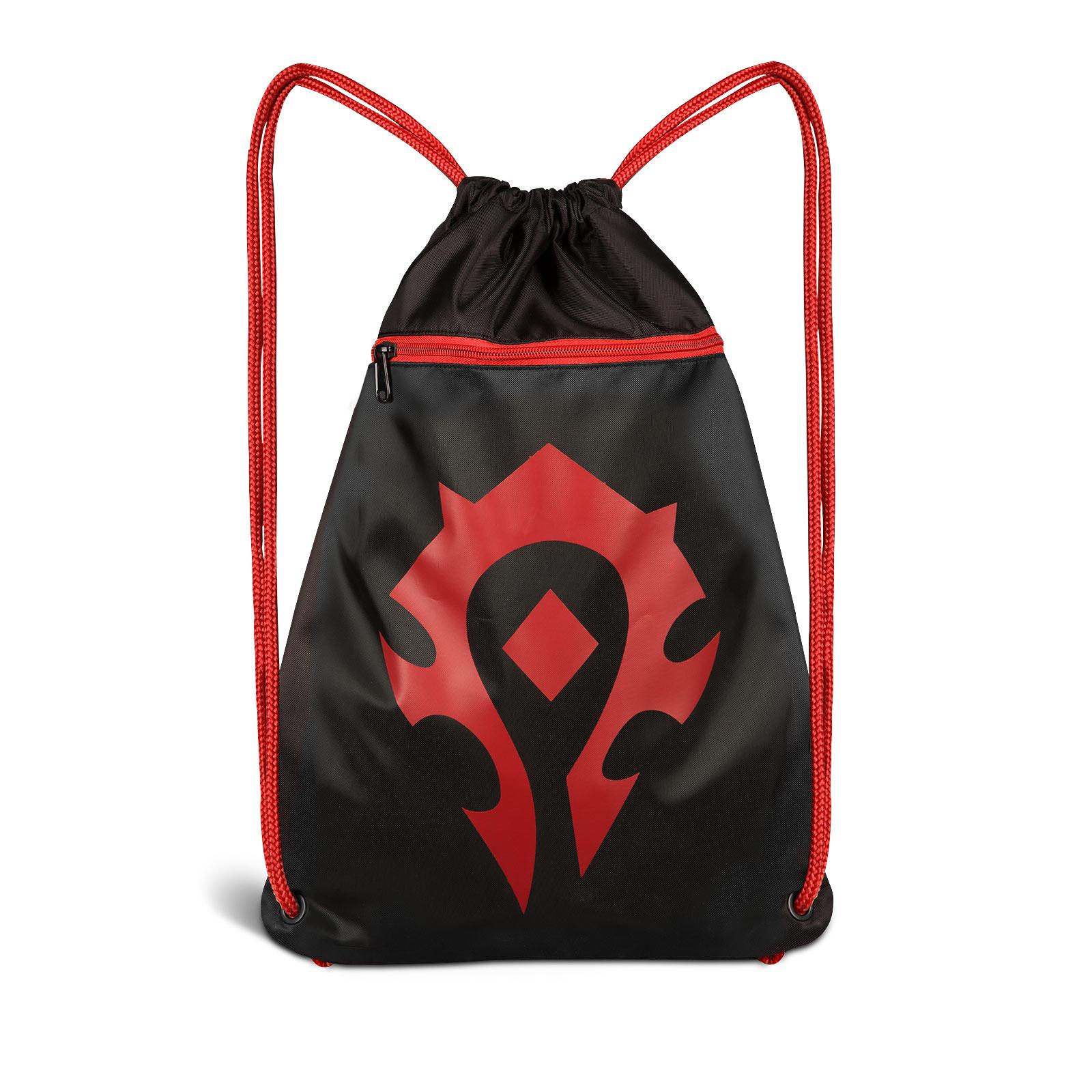 World of Warcraft - Horde Logo Sportbag schwarz