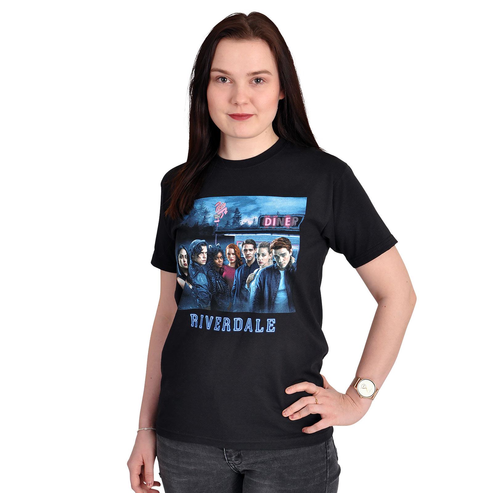 Riverdale - Season Cover T-Shirt schwarz
