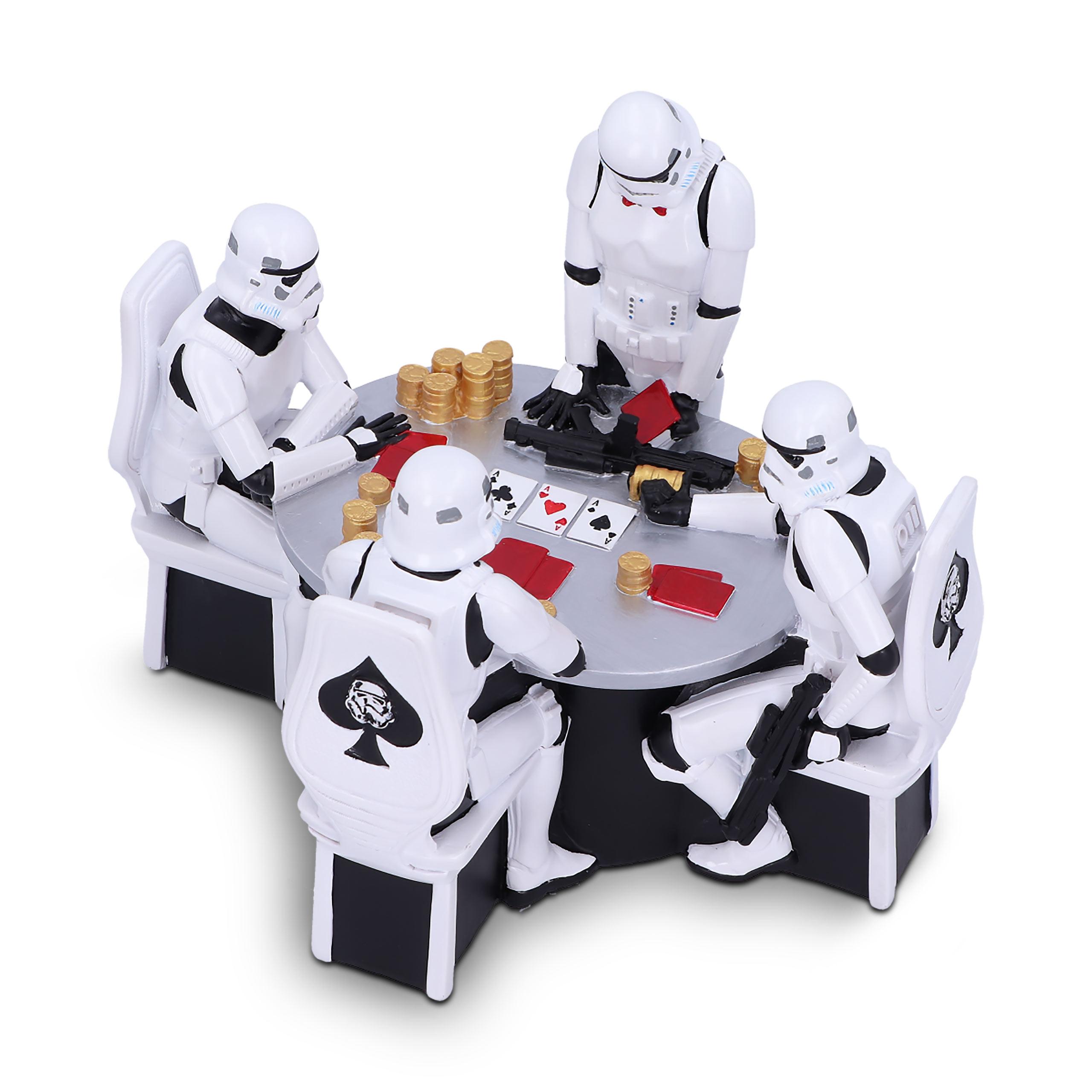 Original Stormtrooper Poker Face Diorama