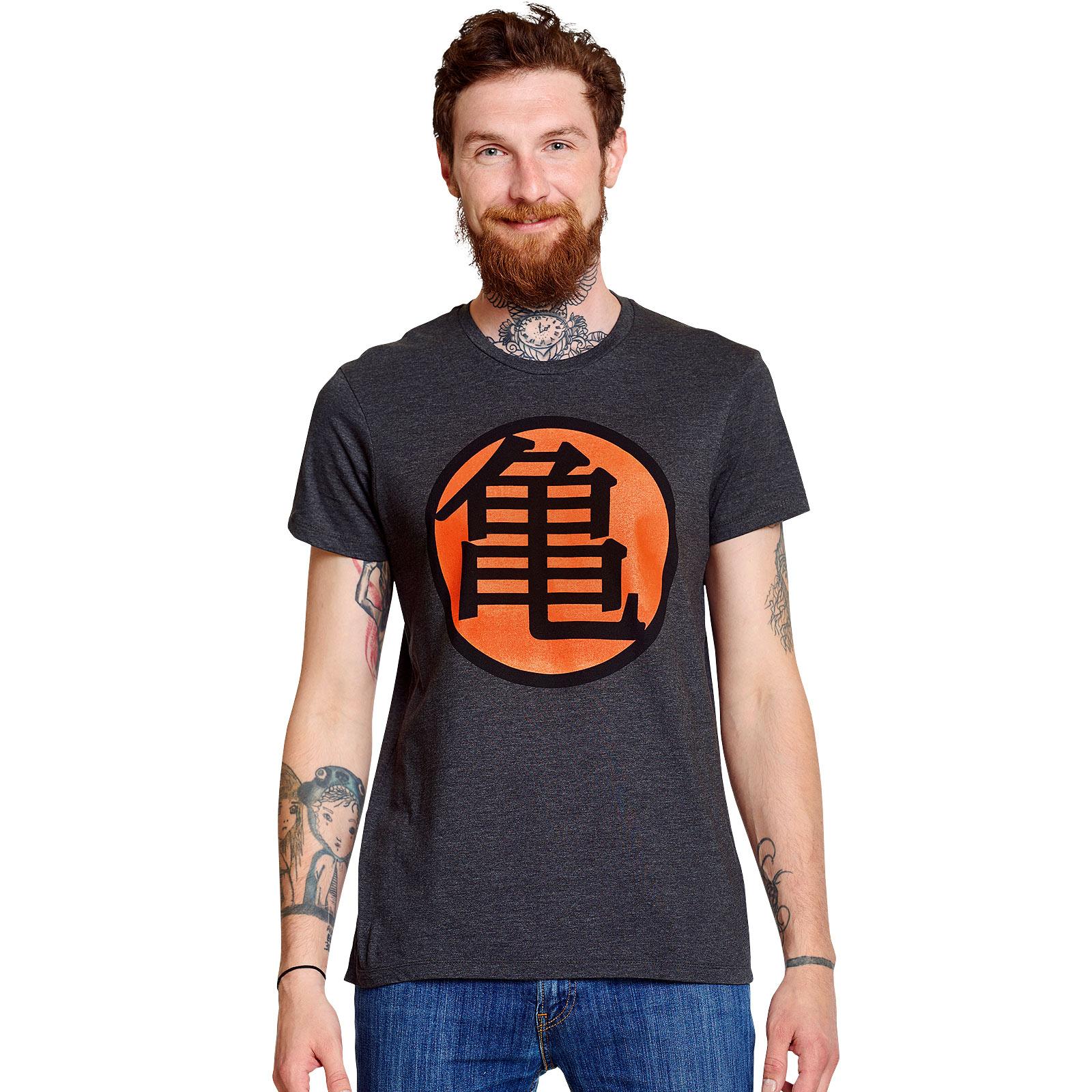 Dragon Ball - Kame Symbol T-Shirt grau