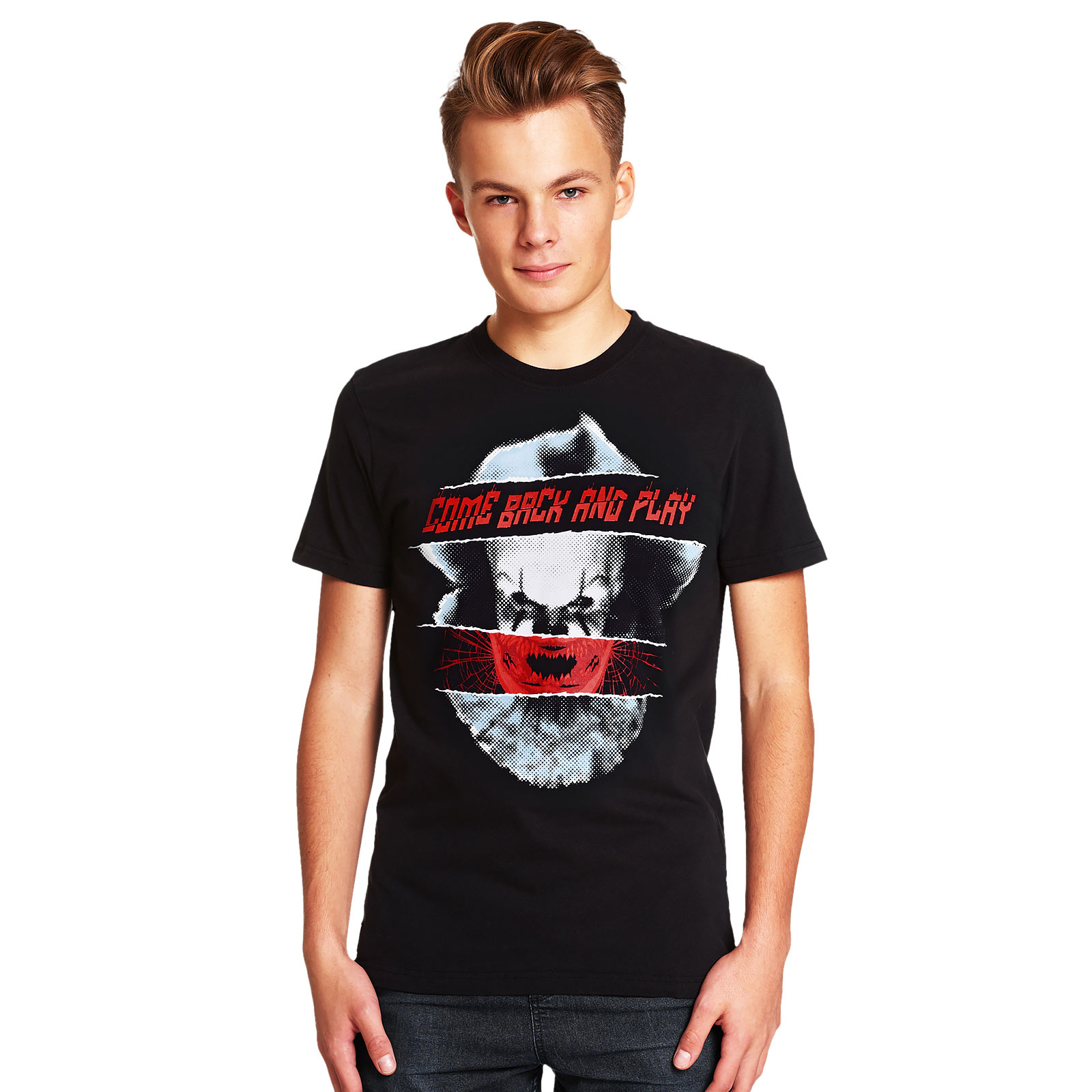 Stephen Kings ES - Pennywise Come Back and Play T-Shirt