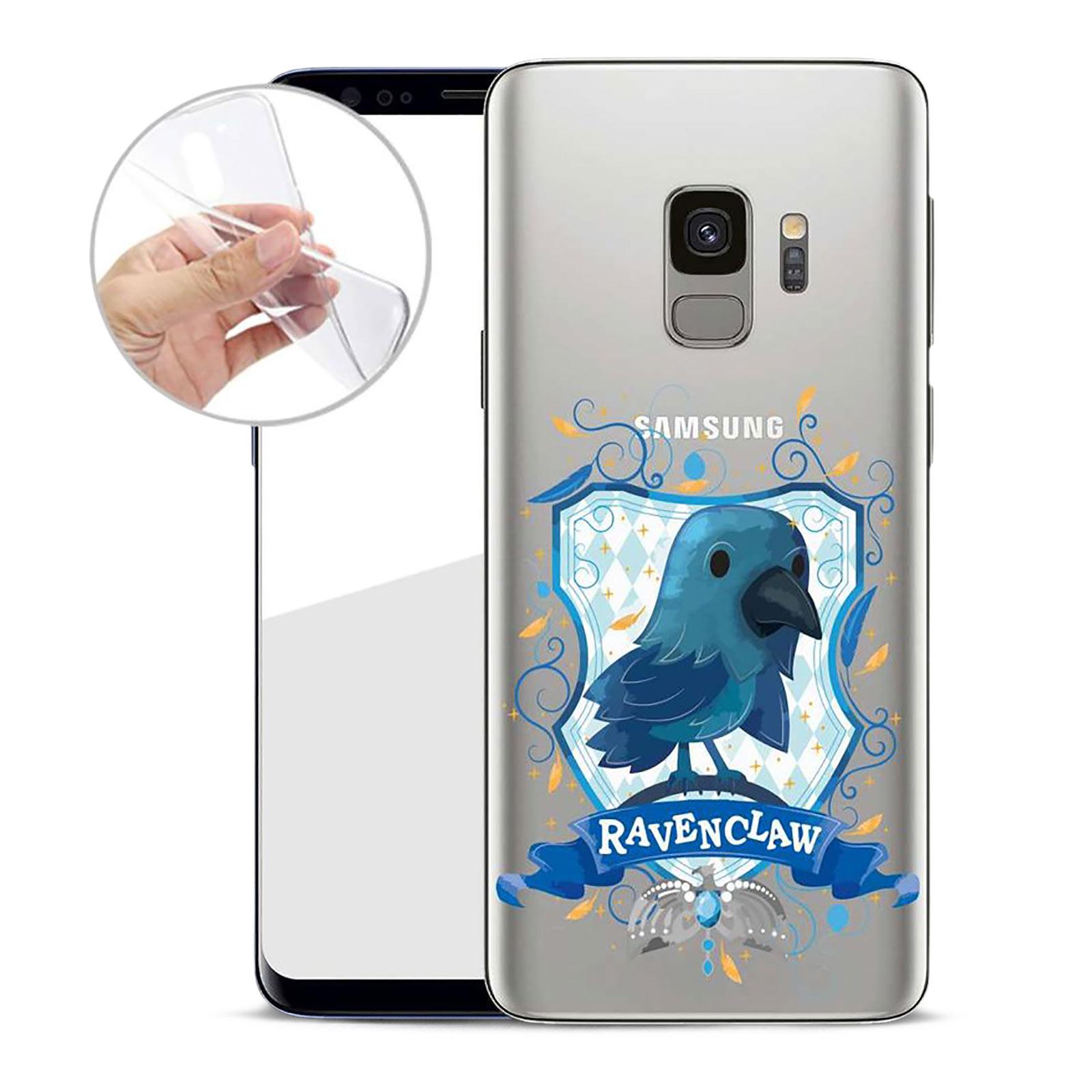Harry Potter - Magical Ravenclaw Samsung Galaxy S9 Handyhülle Silikon transparent