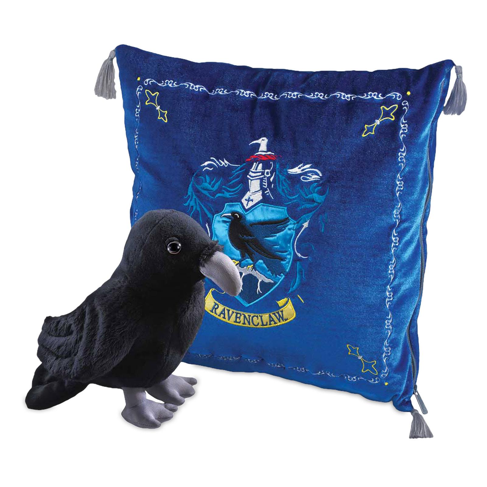 Harry Potter - Ravenclaw Wappen Kissen mit Plüsch Figur