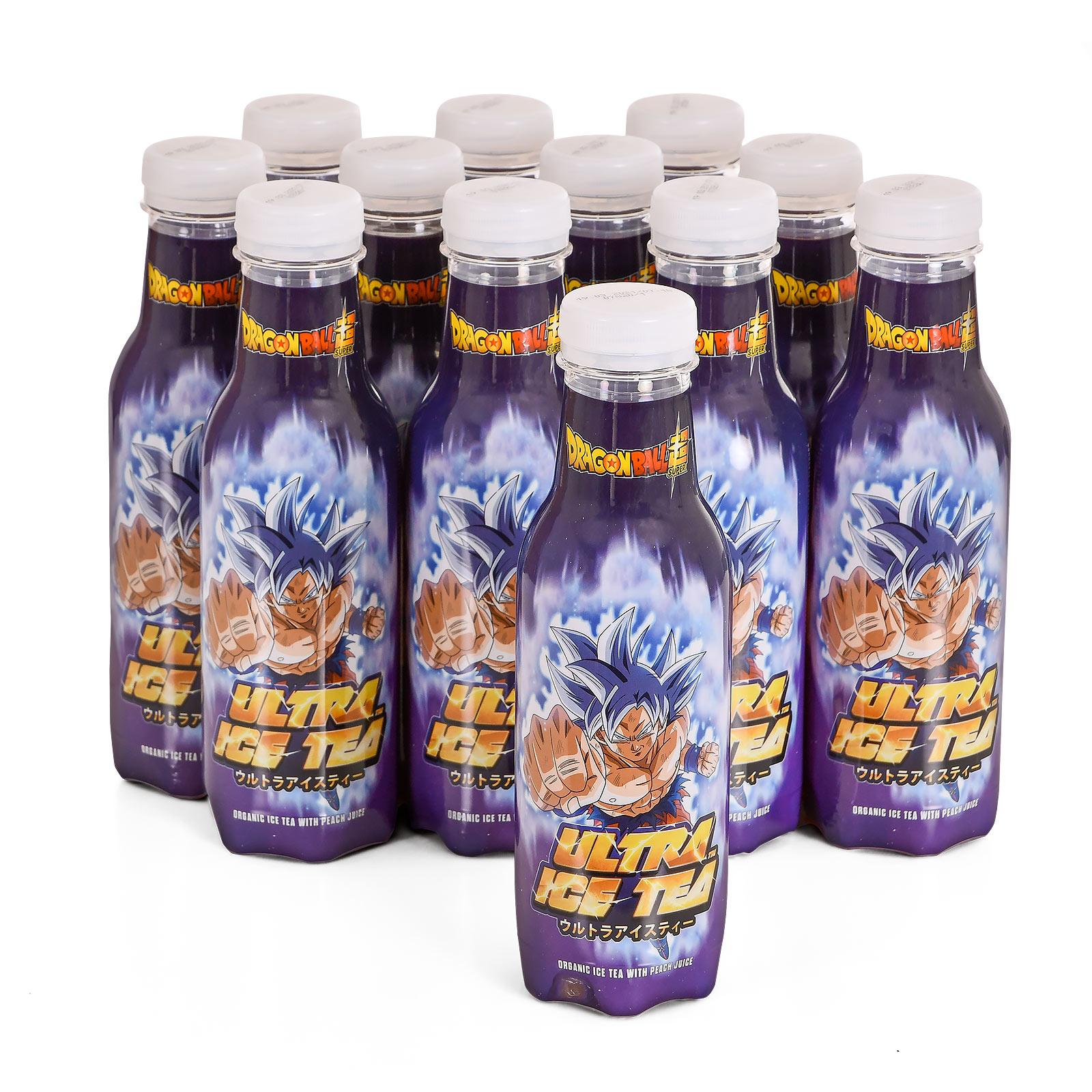 Dragon Ball - Goku Ultra Bio Eistee Pfirsich 12er Pack