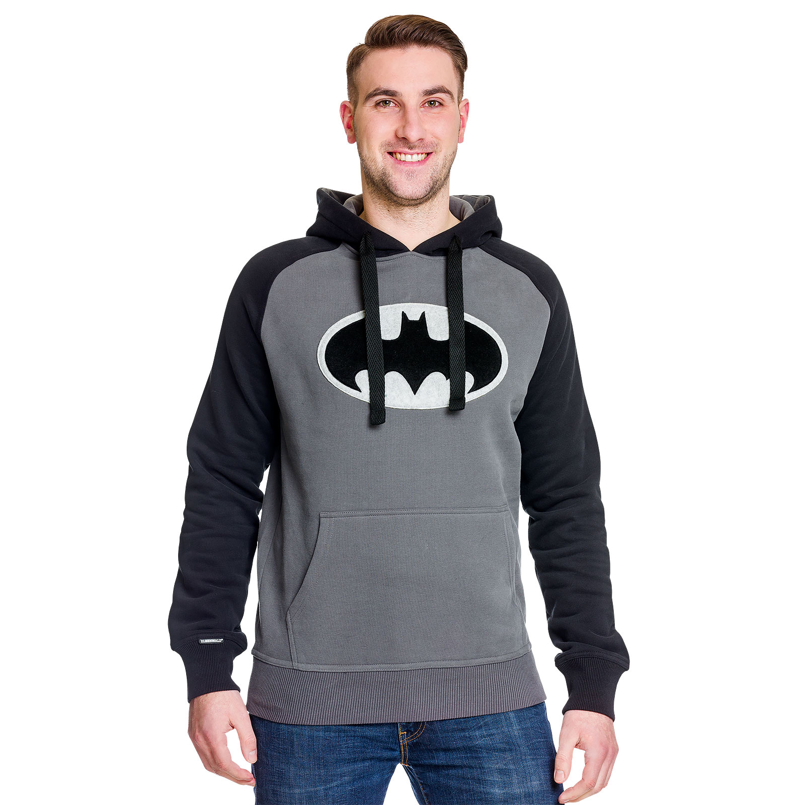Batman - Black Logo Hoodie