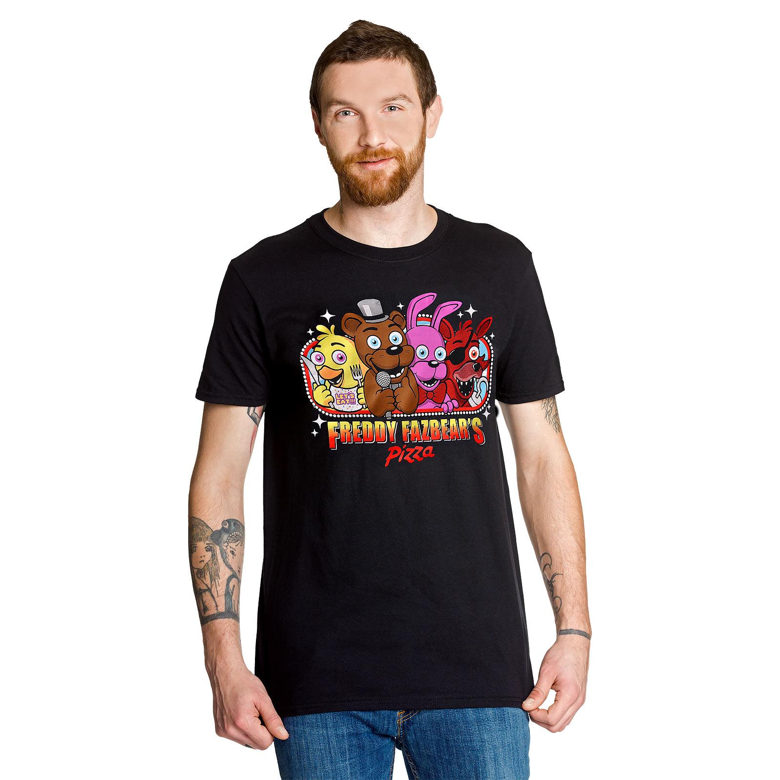 Five Nights at Freddys - Freddy Fazbears Pizza T-Shirt