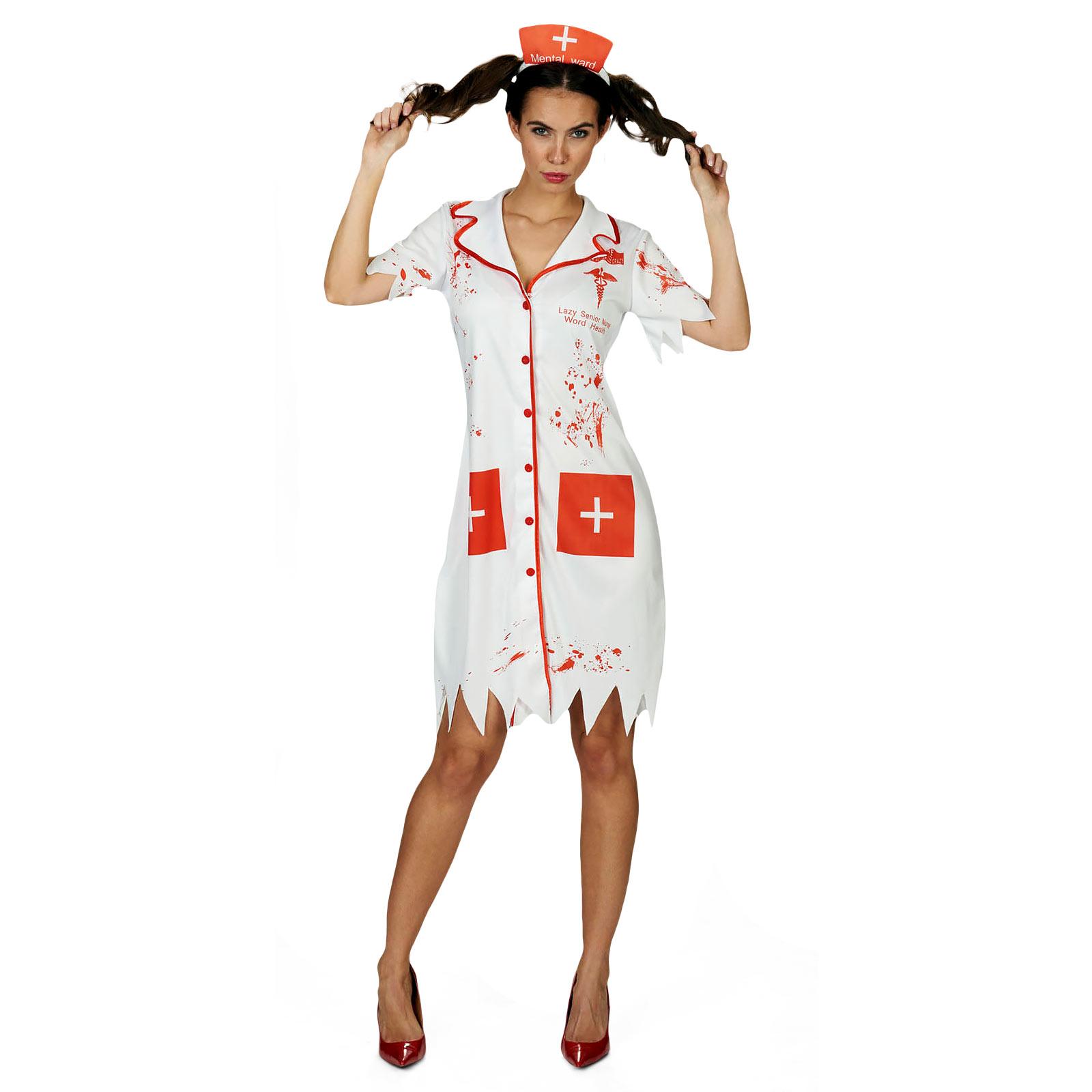 Horror Krankenschwester - Kostüm Damen