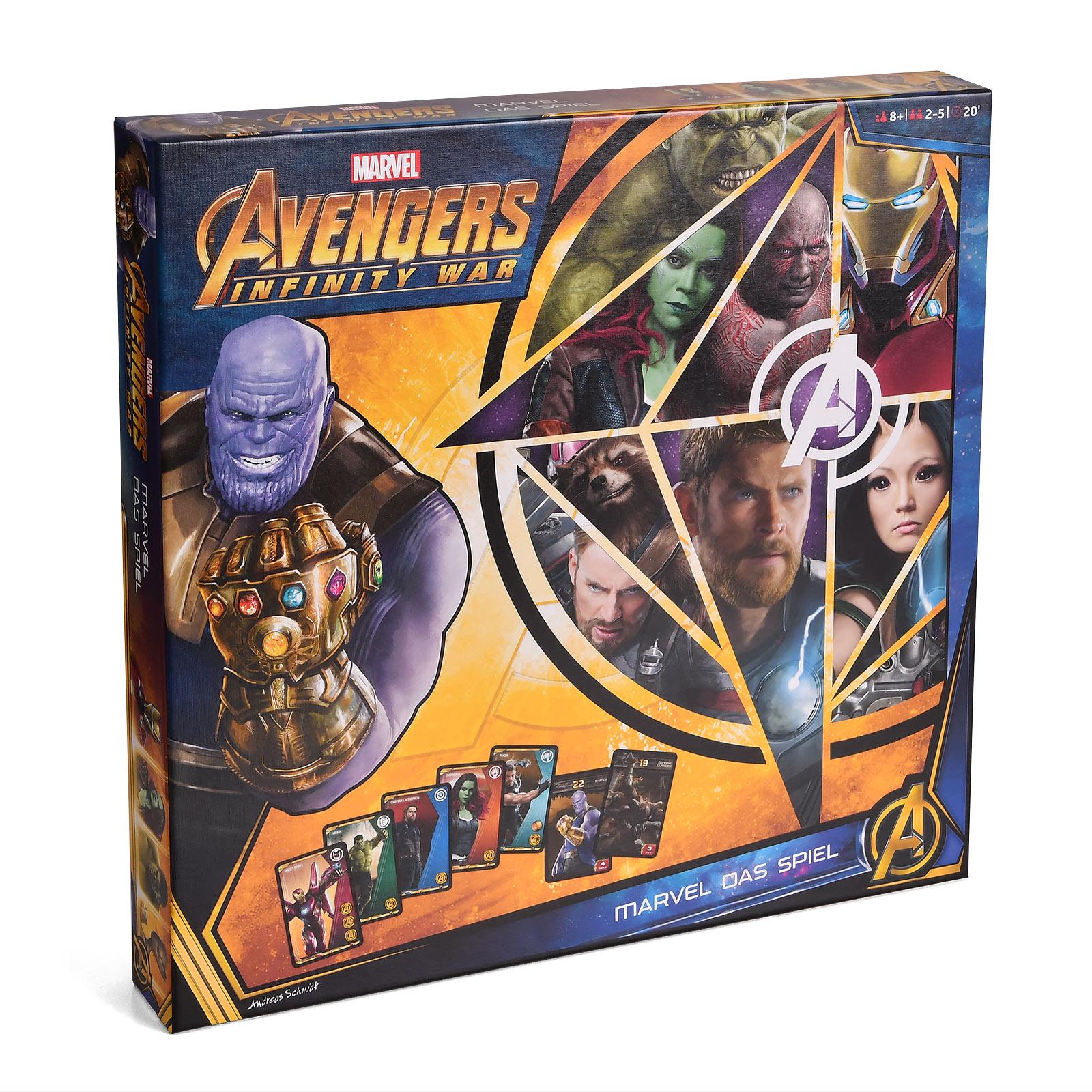 Avengers - Infinity War Brettspiel
