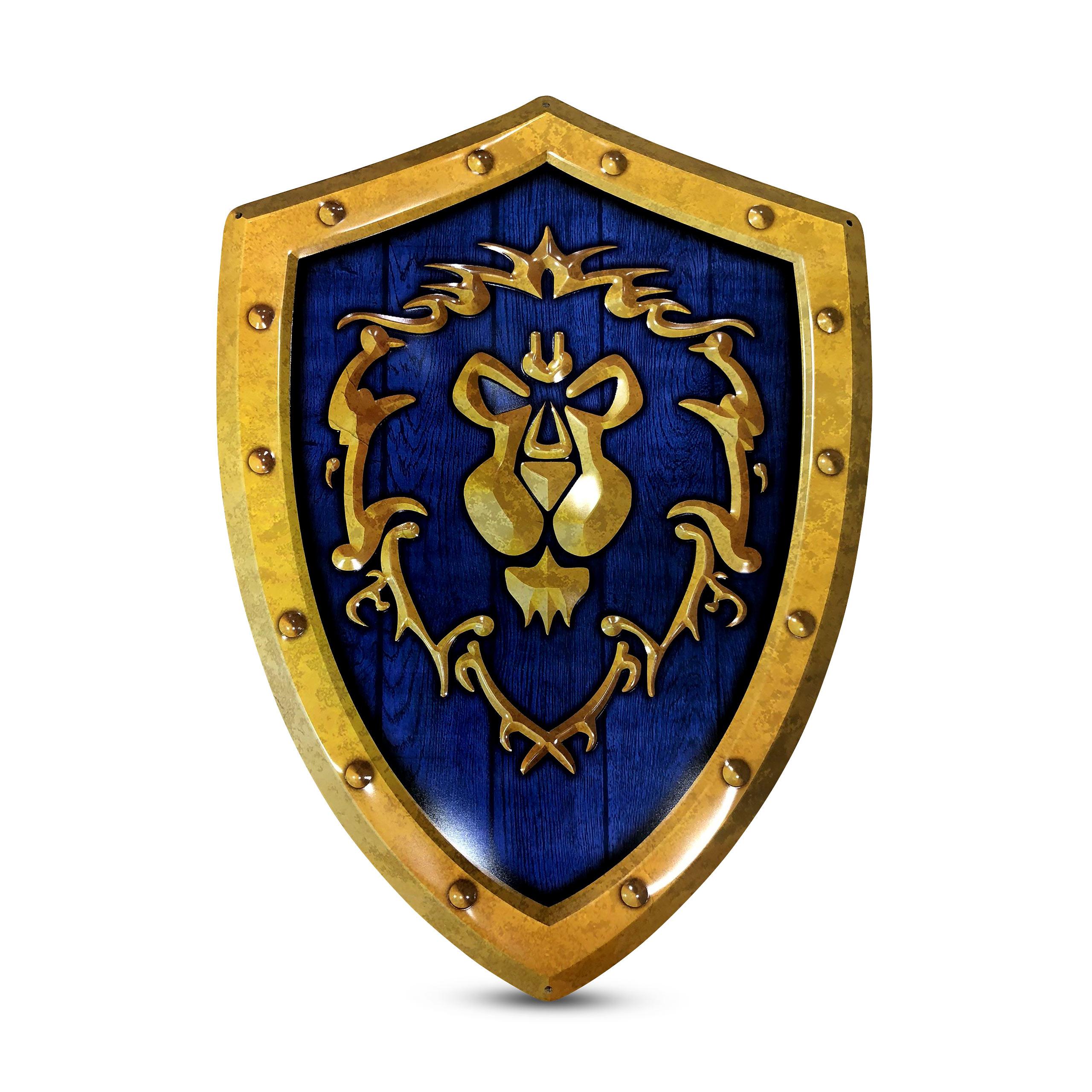 World of Warcraft - Alliance Logo Metall Wappen
