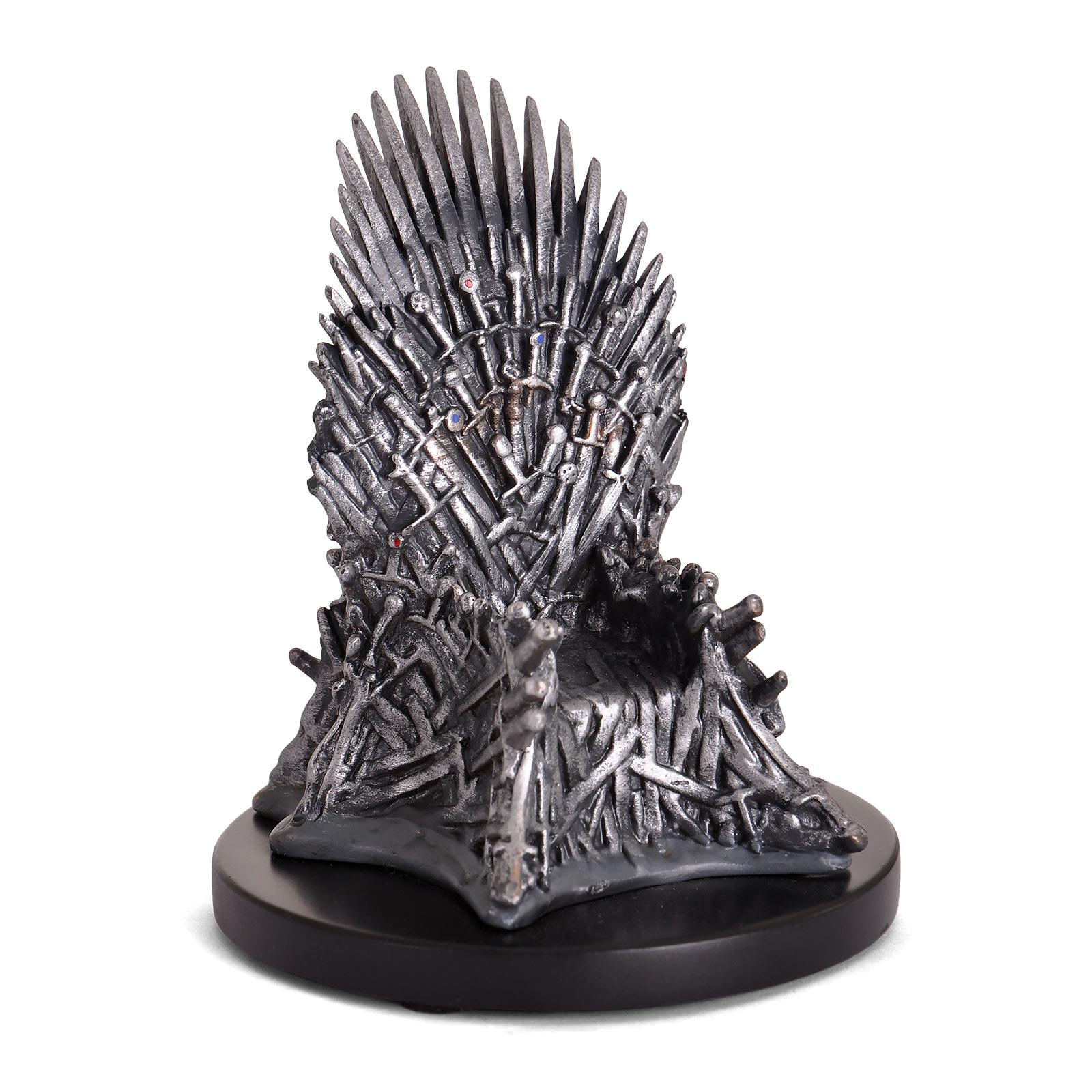 Game of Thrones - Eiserner Thron Mini Replik