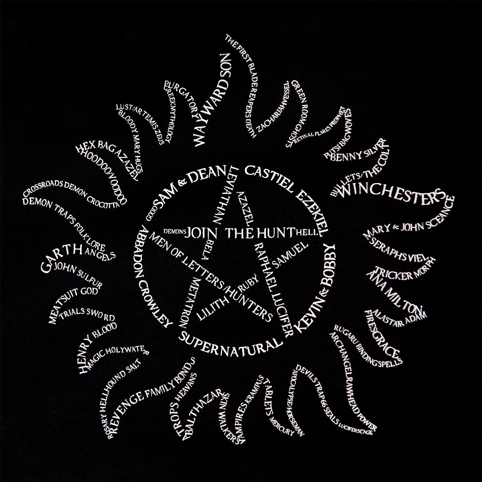 Supernatural - Anti Possession Symbol Hoodie schwarz