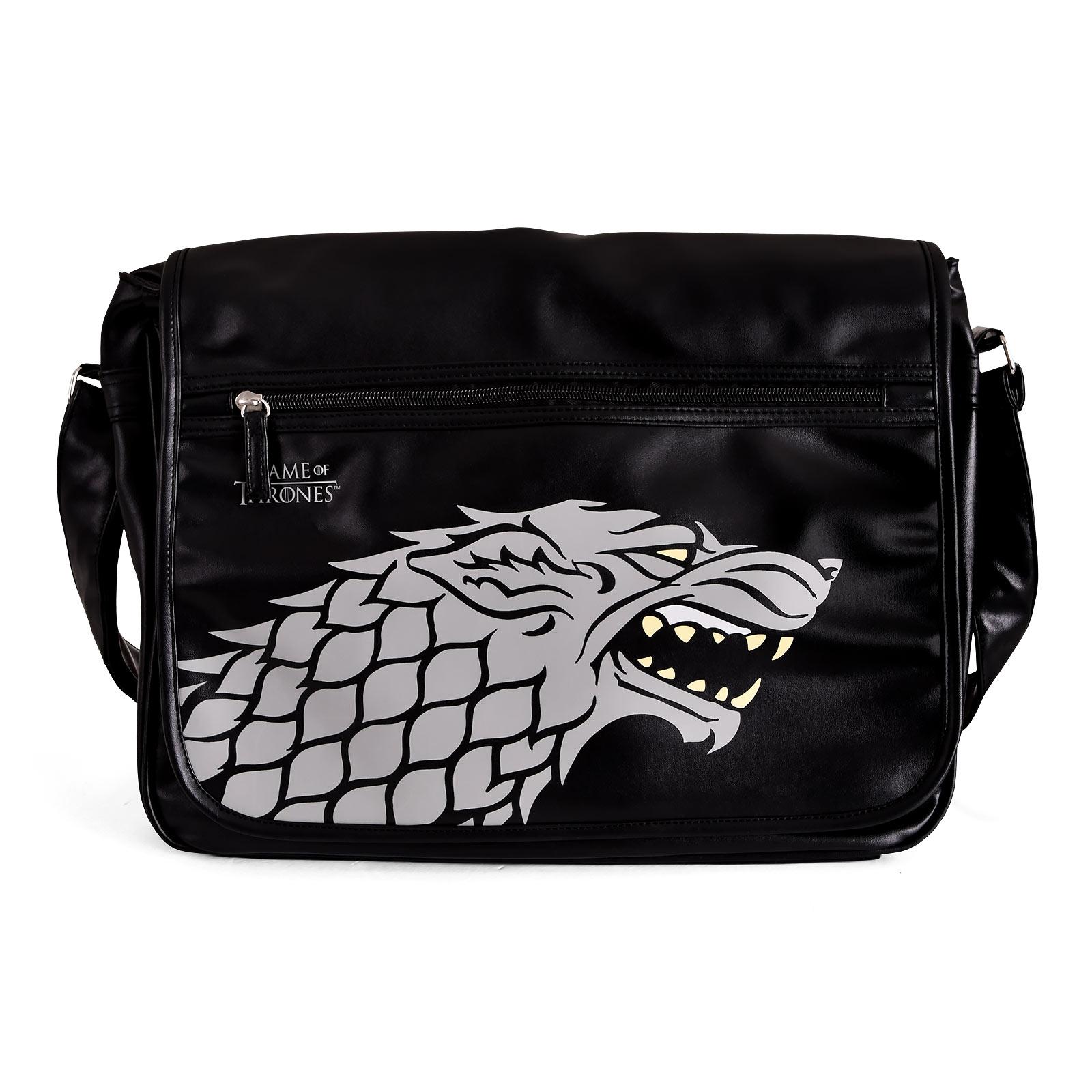Game of Thrones - Stark Wappen College Tasche