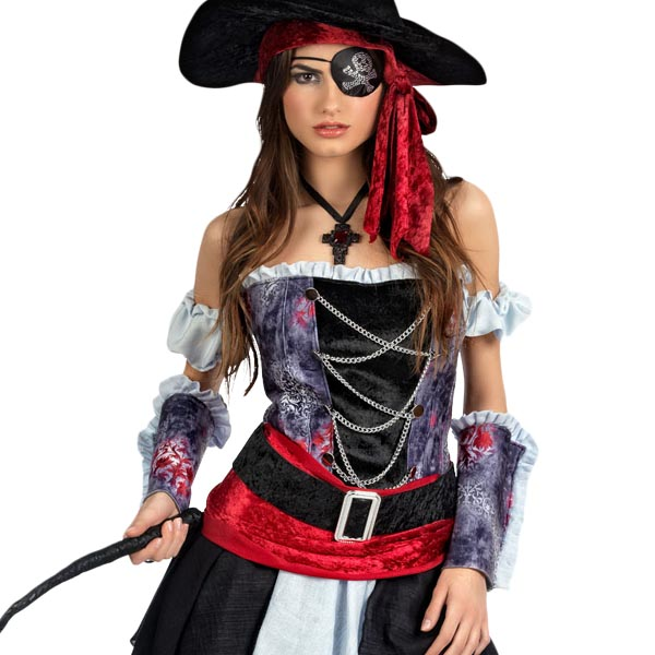Piratin Corsaria - Damenkostüm
