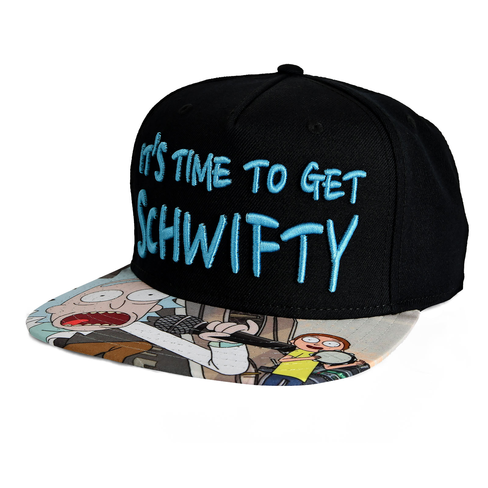 Rick and Morty - Get Schwifty Snapback Cap