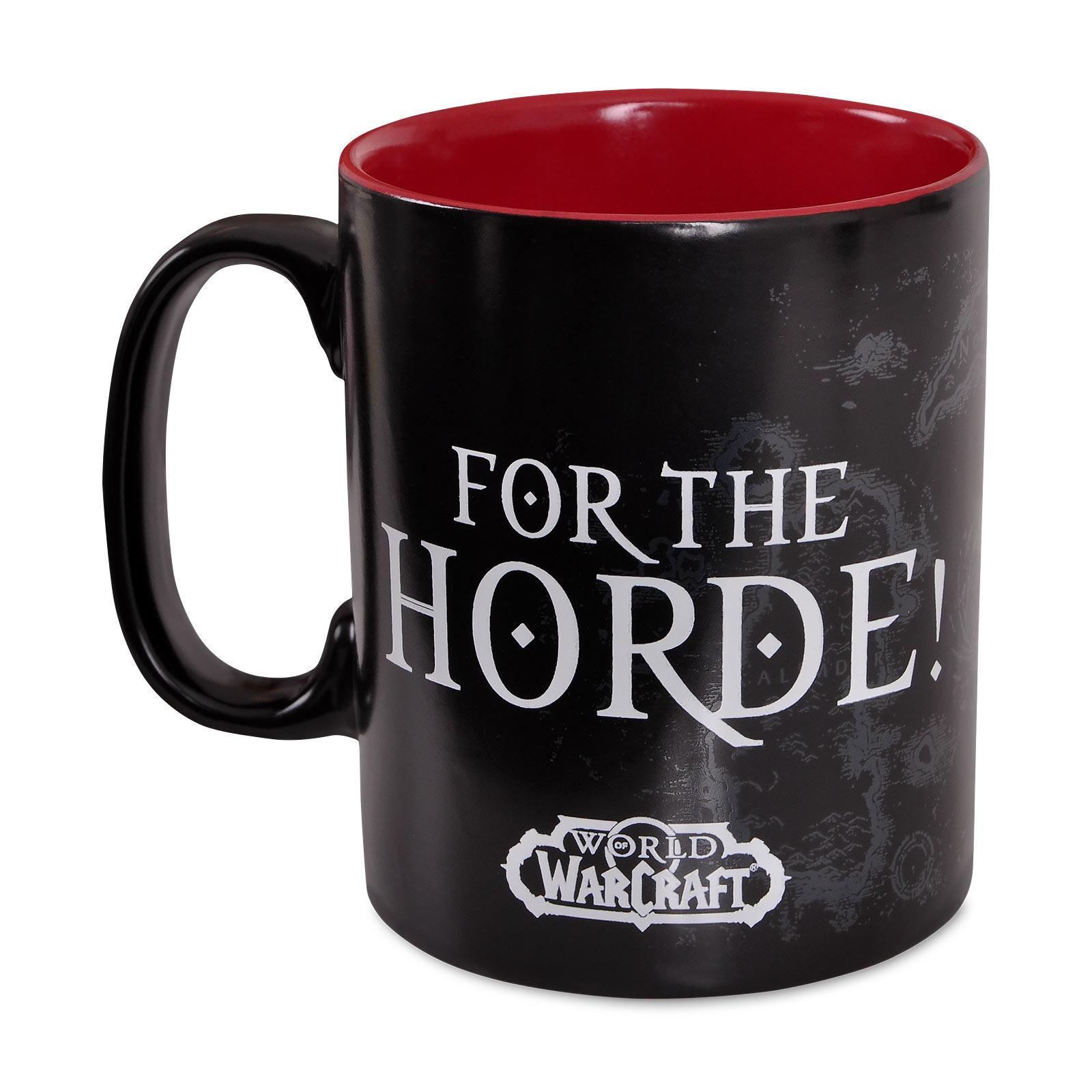 World of Warcraft - For the Horde Tasse