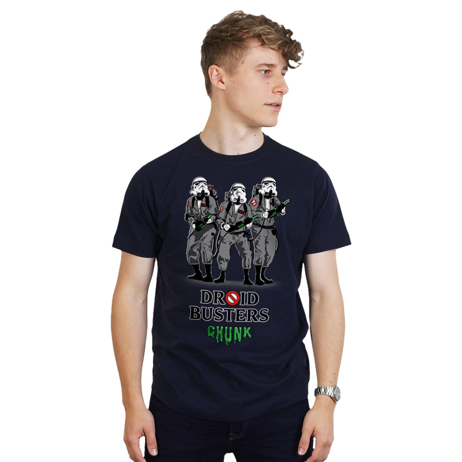 Droidbusters T-Shirt für Star Wars Fans blau