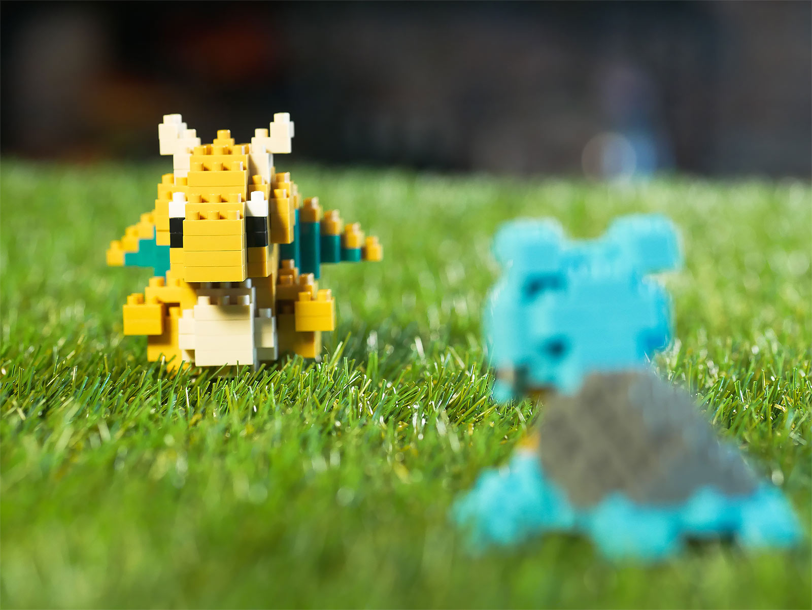 Pokemon - Dragoran nanoblock Mini Baustein Figur