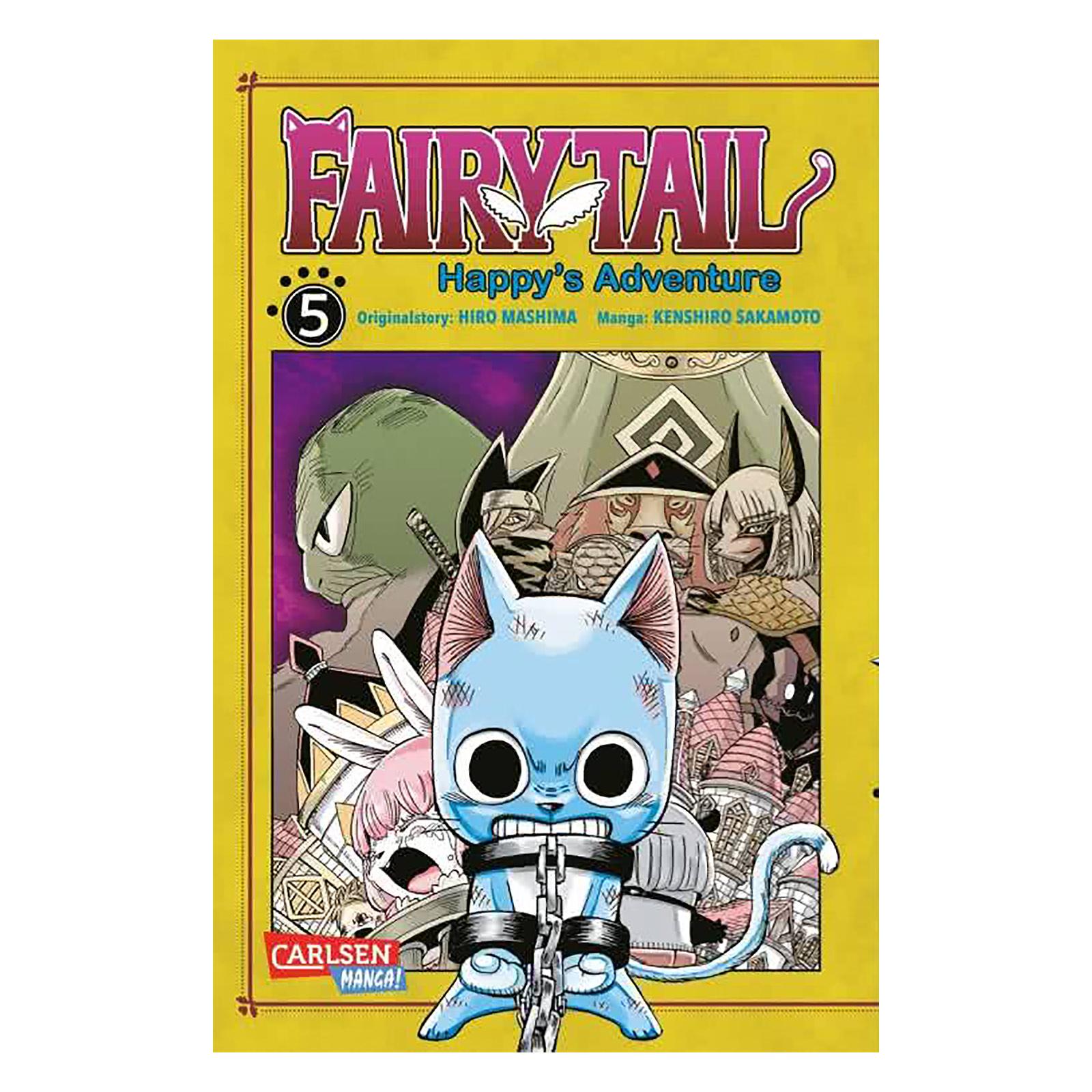 Fairy Tail - Happy's Adventure Band 5 Taschenbuch