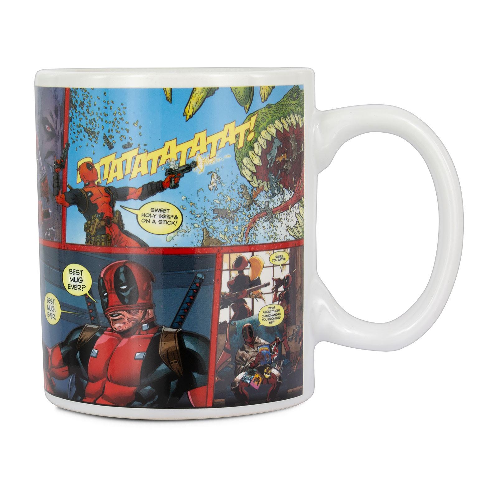 Deadpool - Best Mug Ever Thermoeffekt Tasse