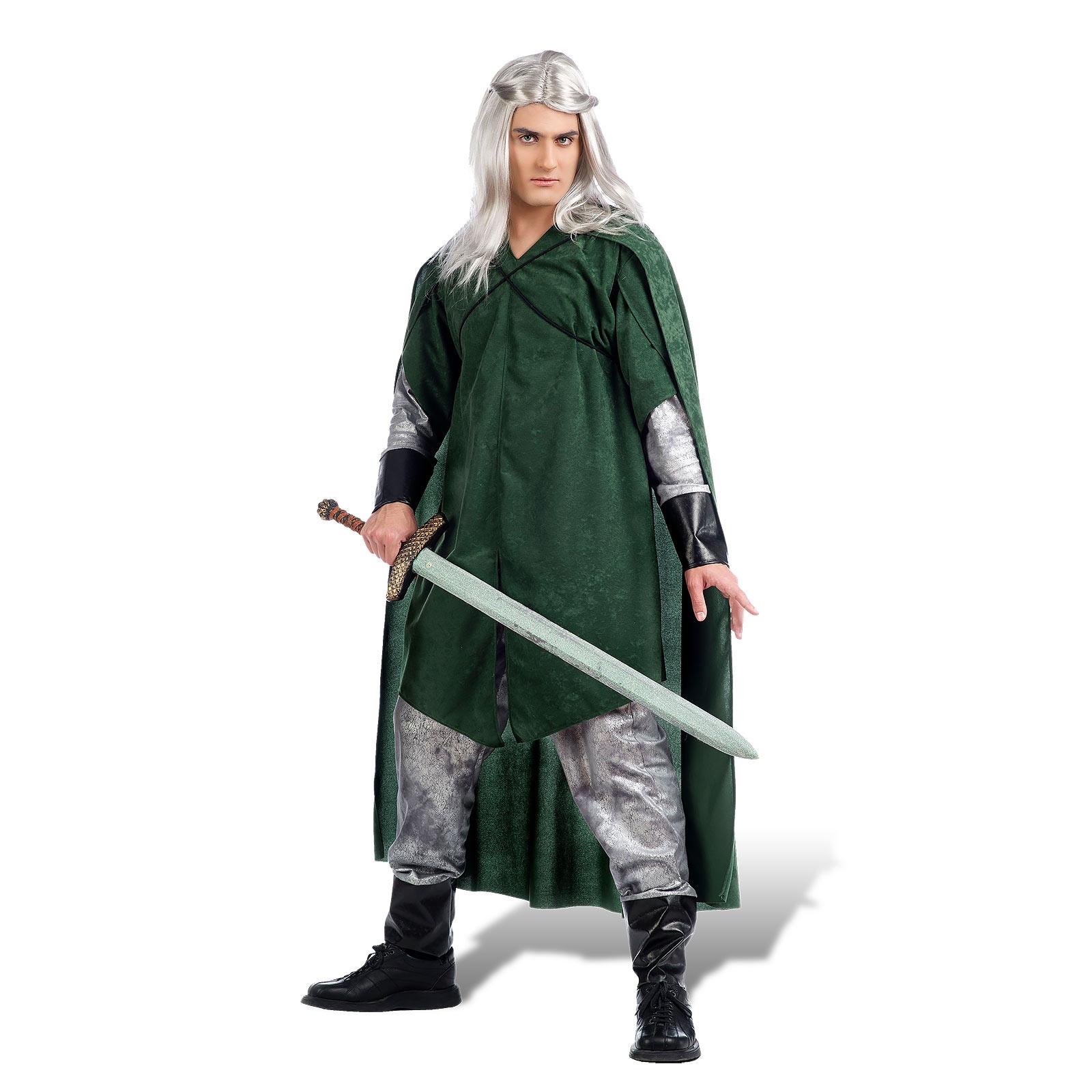 Grüner Waldelf - Kostüm Herren