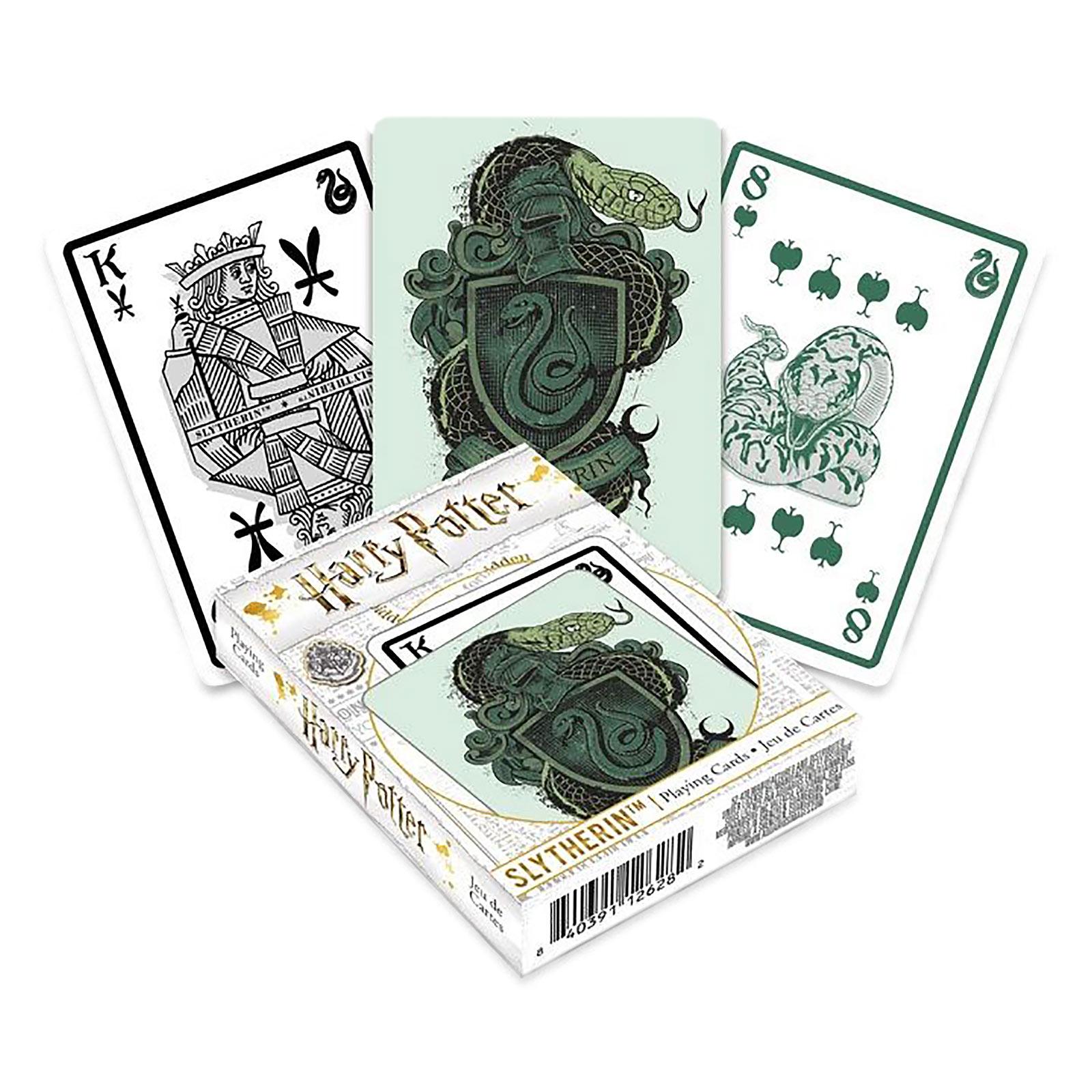 Harry Potter - Slytherin Kartenspiel