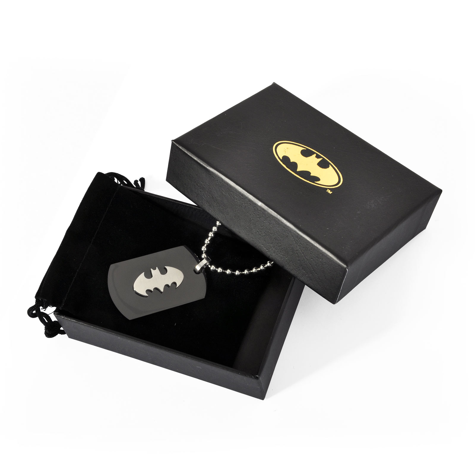 Batman - Logo Anhänger an Kette
