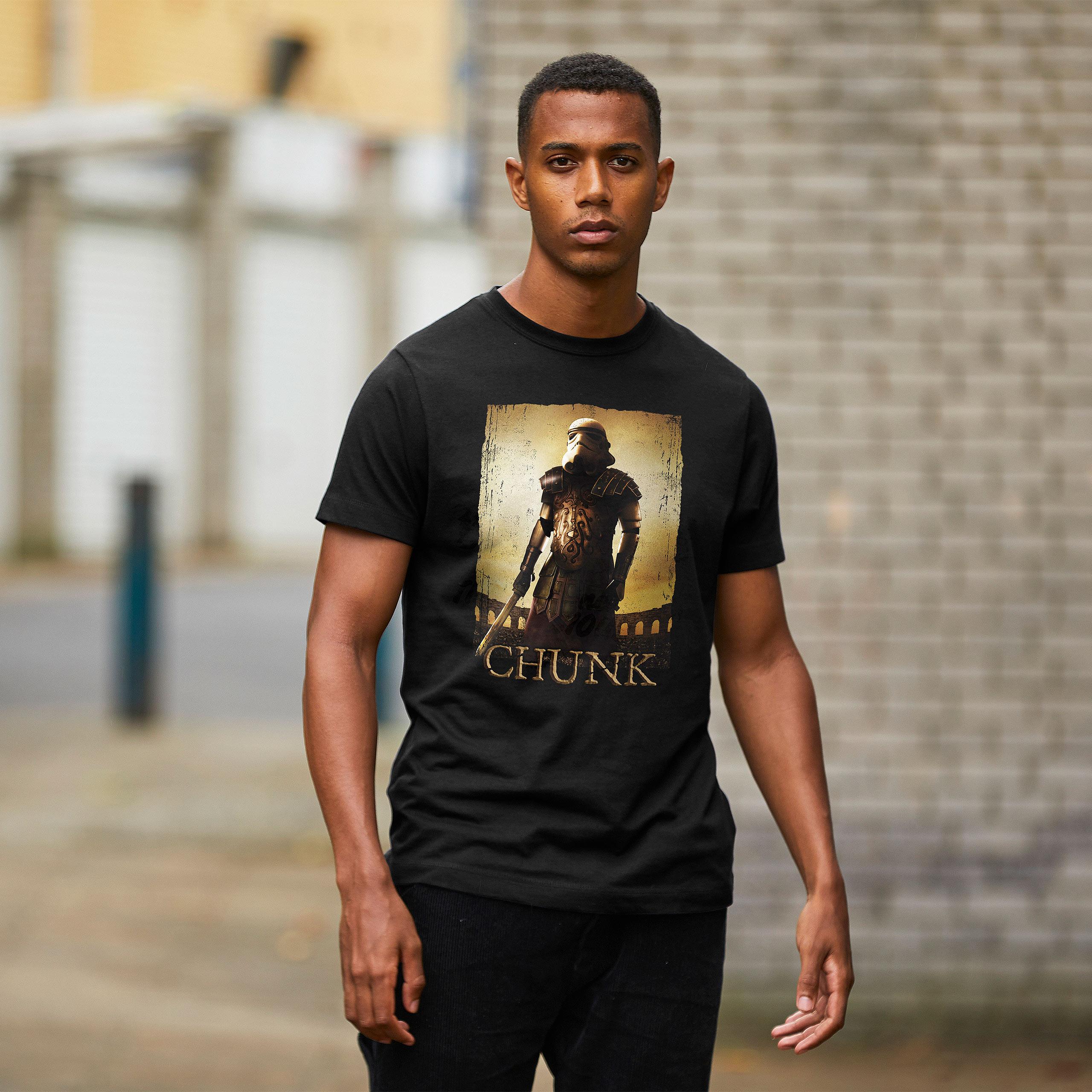 Galactic Warrior T-Shirt für Star Wars Fans schwarz
