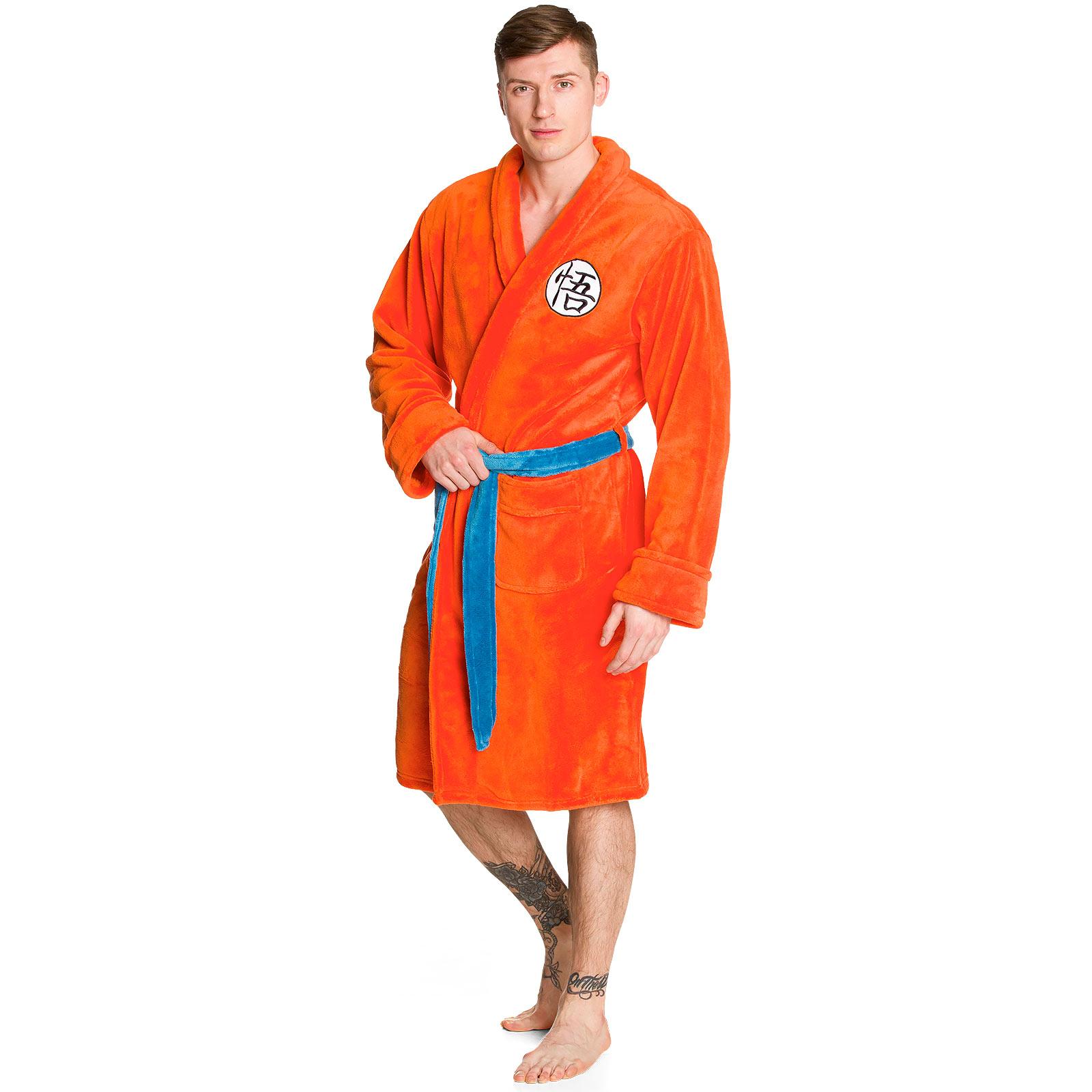 Dragon Ball - Go Sign Bademantel orange