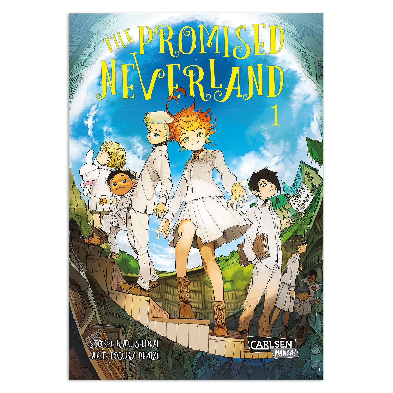 The Promised Neverland - Band 1 Taschenbuch