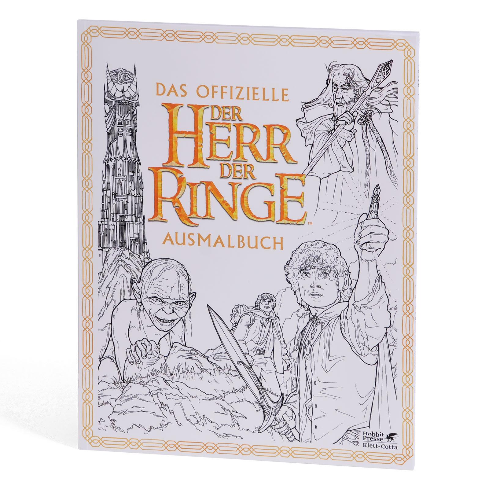 Herr der Ringe - Das offizielle Ausmalbuch