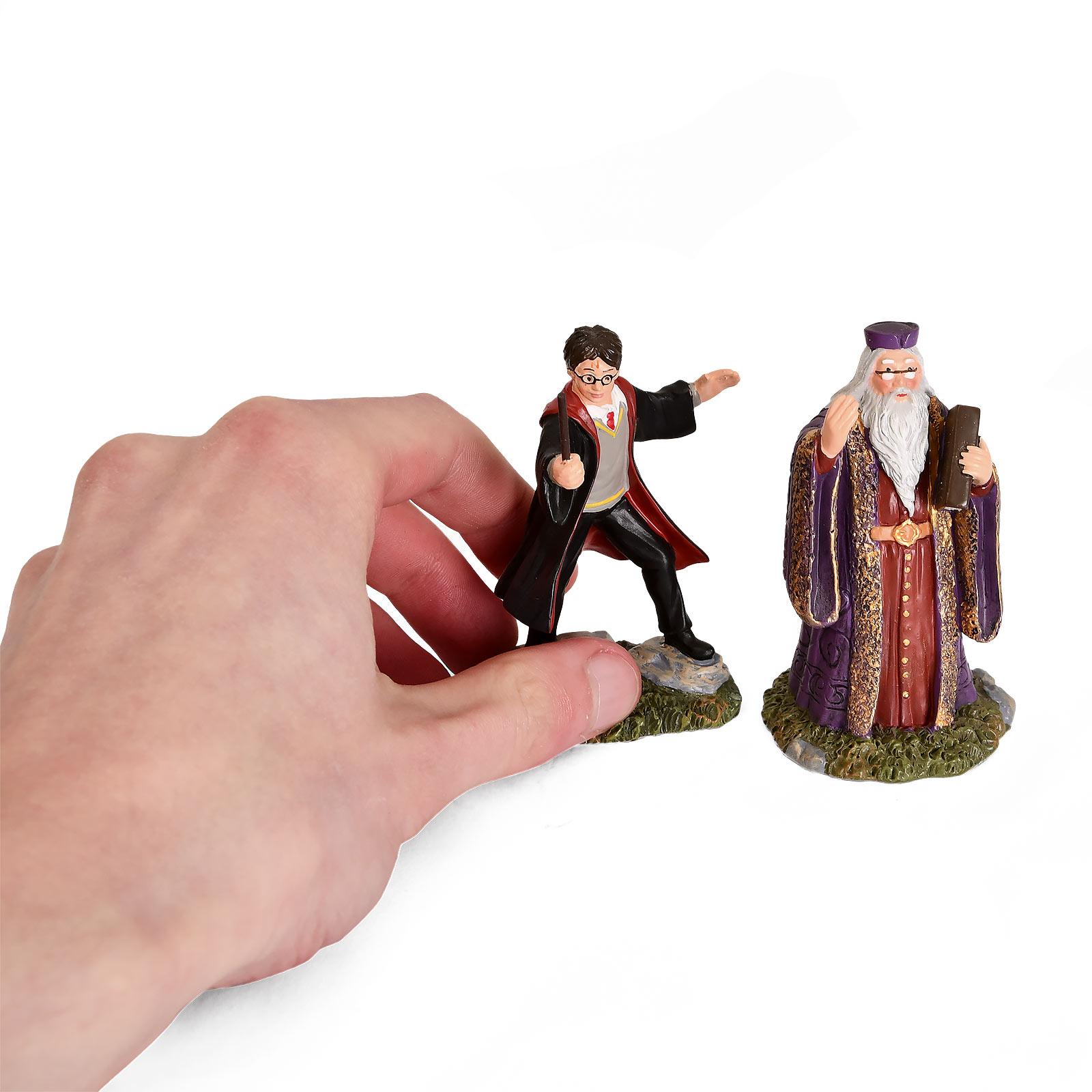 Harry Potter - Dumbledore und Harry Figuren Set