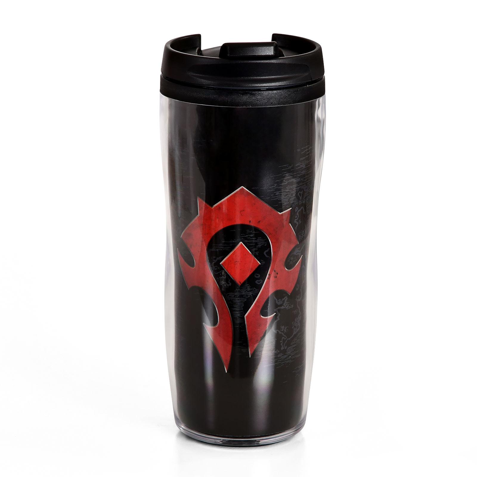 World of Warcraft - Horde Logo To Go Becher