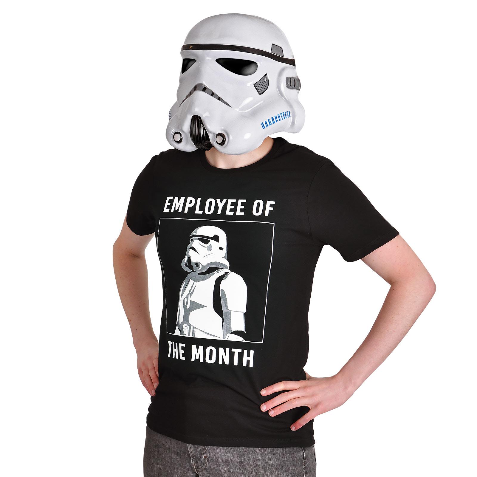 Star Wars - Stormtrooper Employee of the Month T-Shirt schwarz