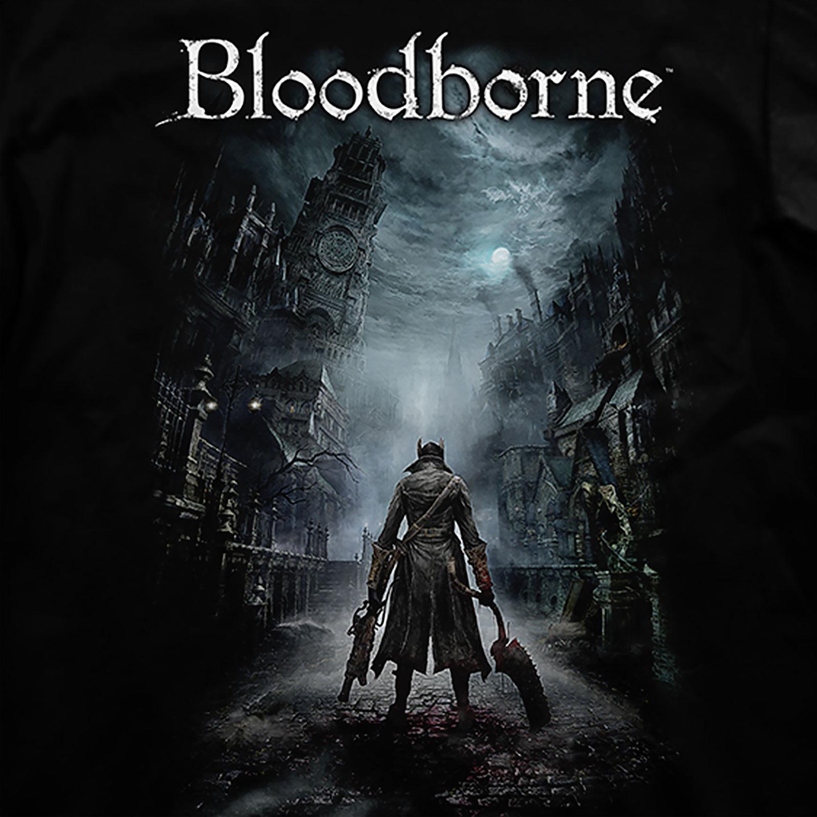 Bloodborne - Night Street T-Shirt schwarz