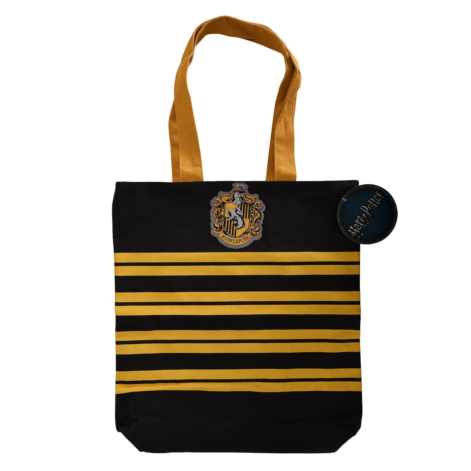 Harry Potter - Hufflepuff Shopper Tasche zum Wenden