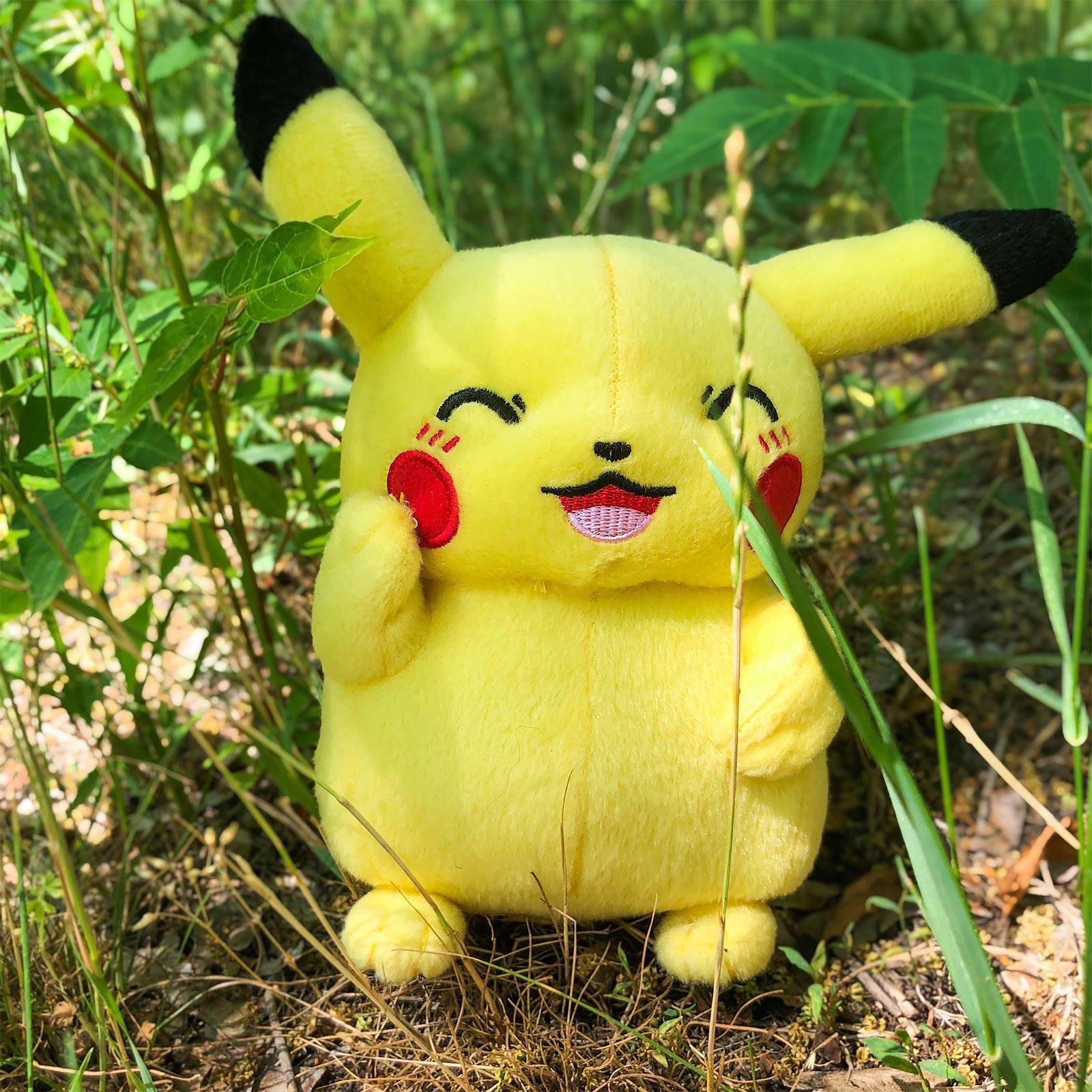 Pokemon - Pikachu Plüsch Figur 18cm