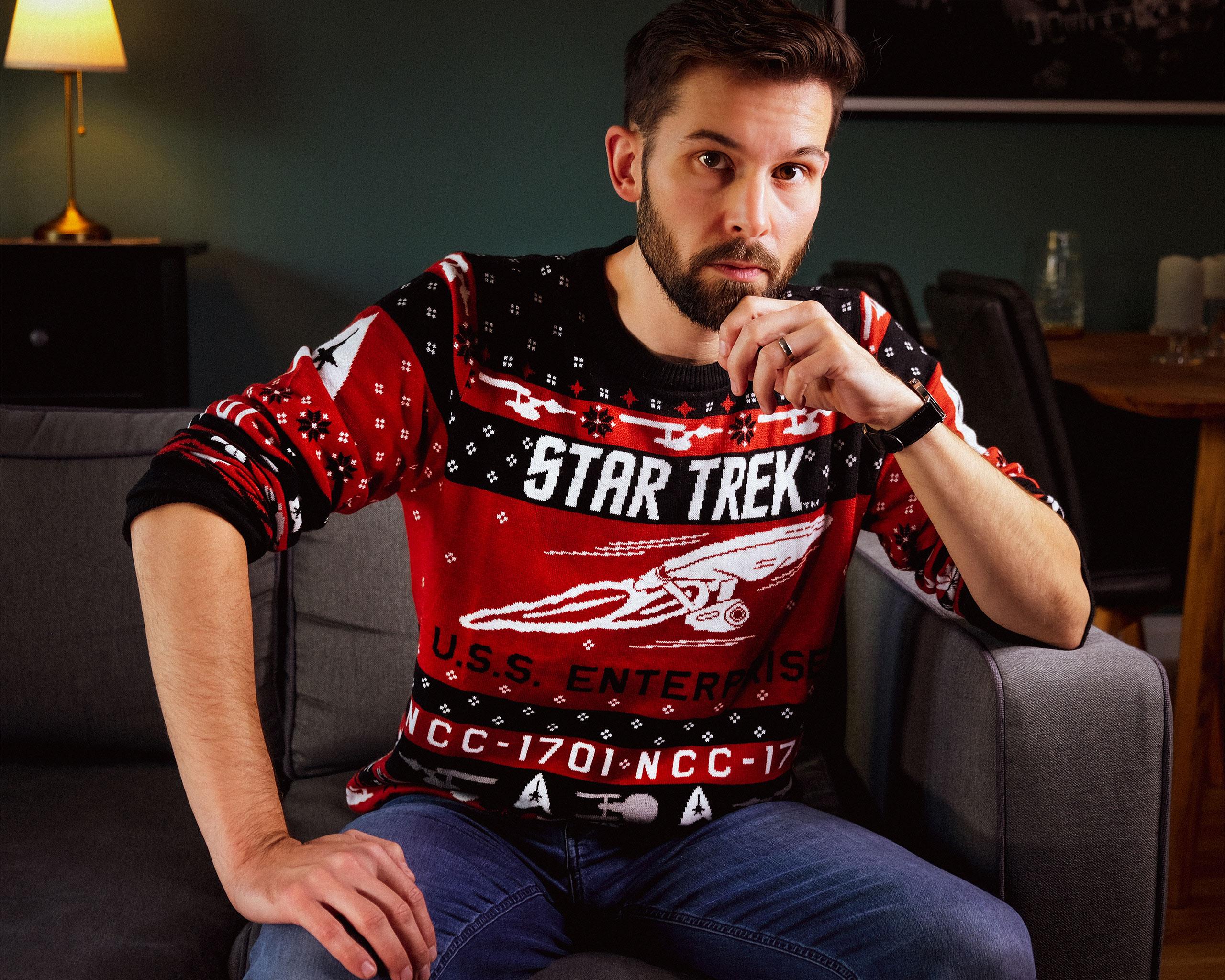 Star Trek - USS Enterprise Strickpullover