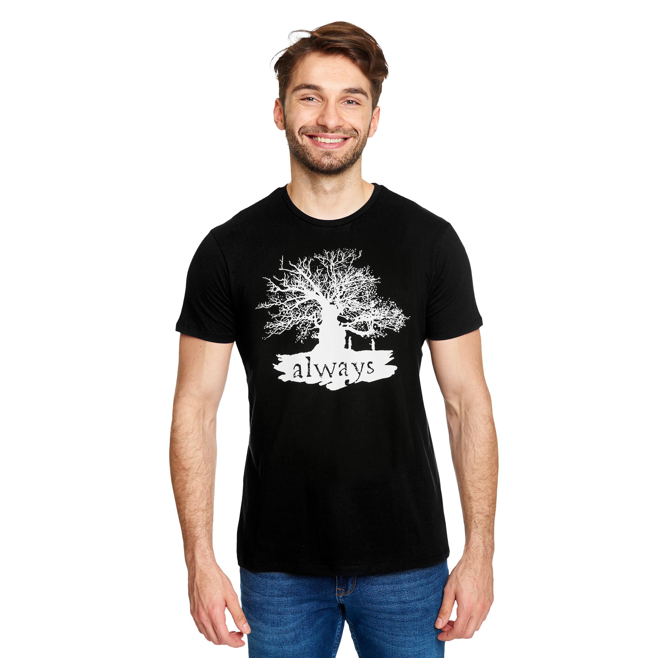 Harry Potter - Always T-Shirt schwarz