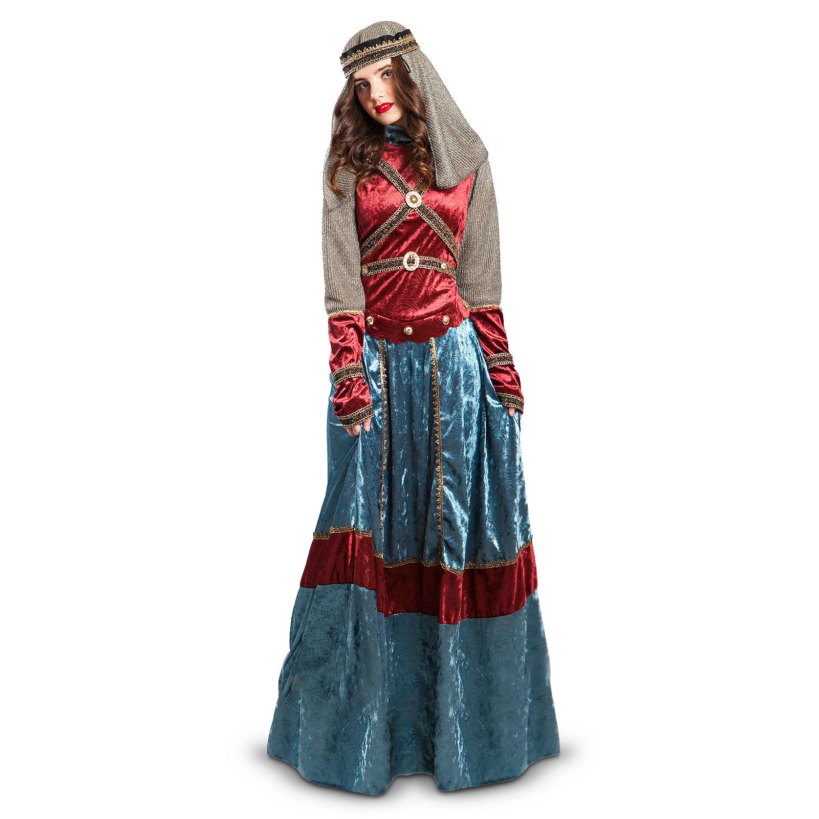 Königin Isabell - Kostüm Damen